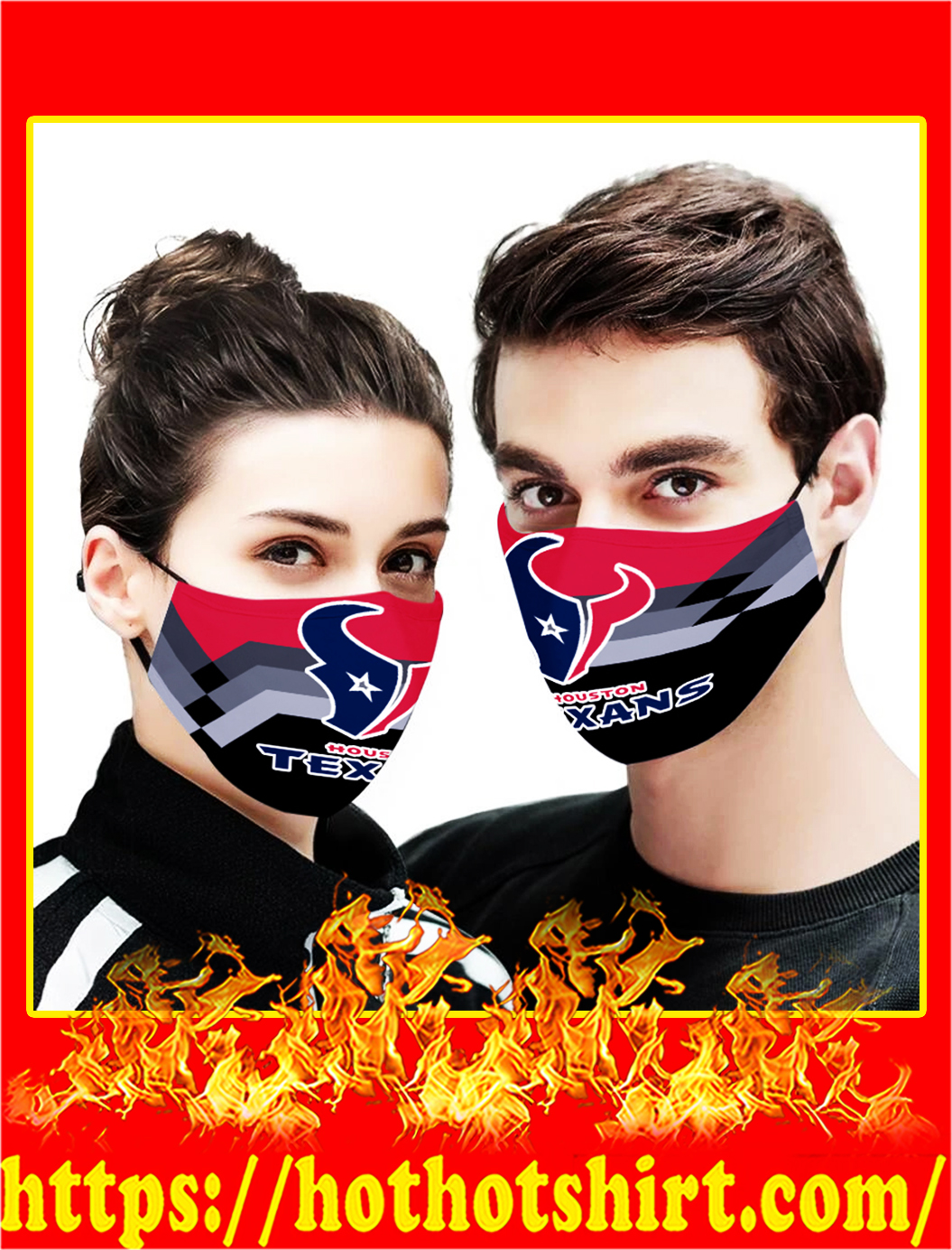 Houston texans face mask - pic 1Houston texans face mask - pic 1