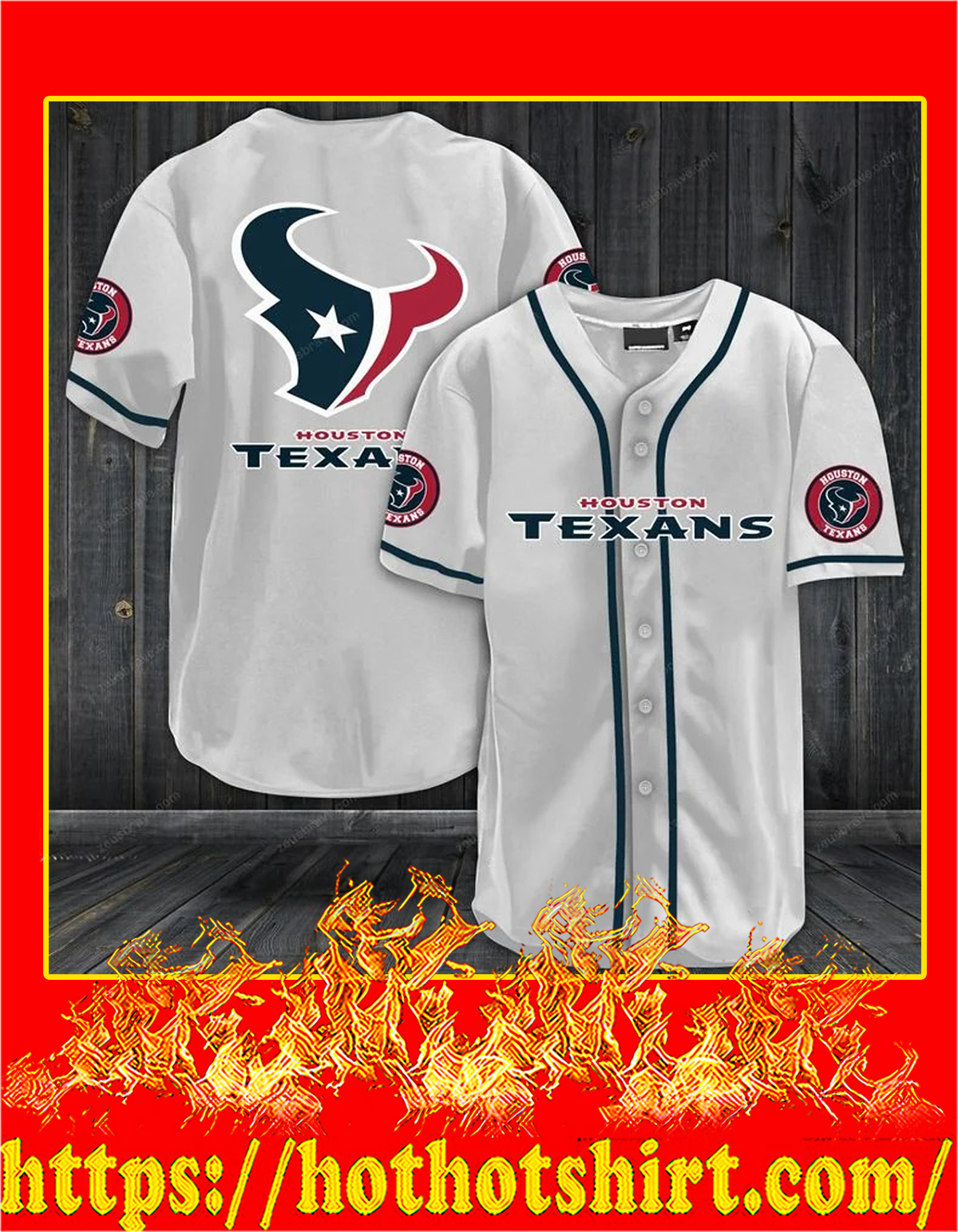 Houston texans hawaiian shirt - pic 1