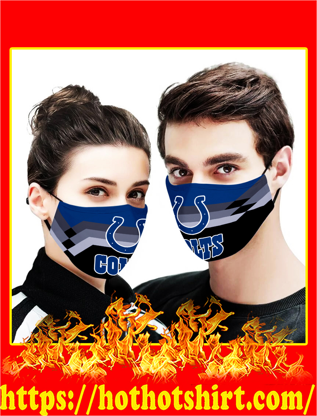 Indianapolis colts face mask - pic 1