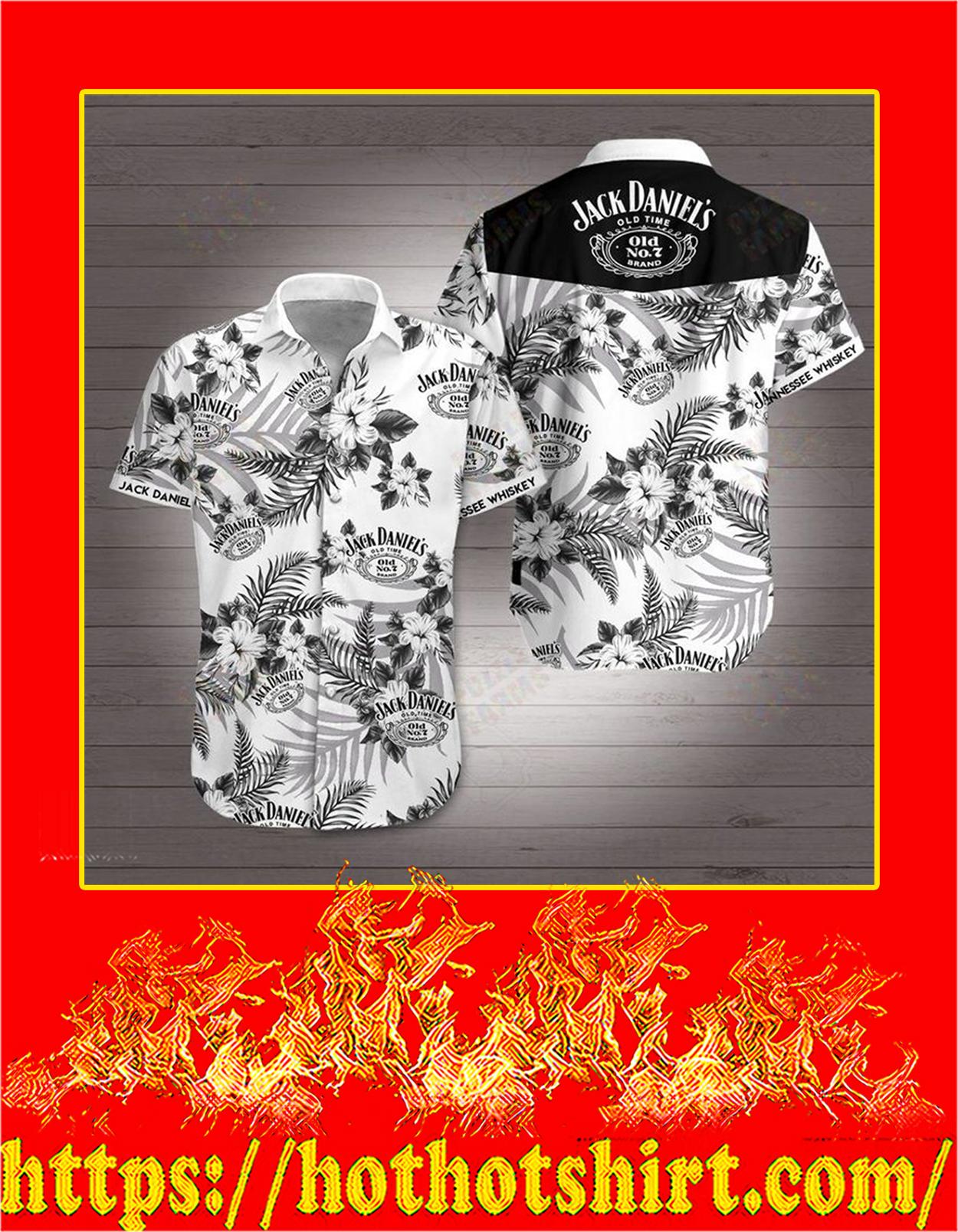 Jack daniel's hawaiian shirt - detail