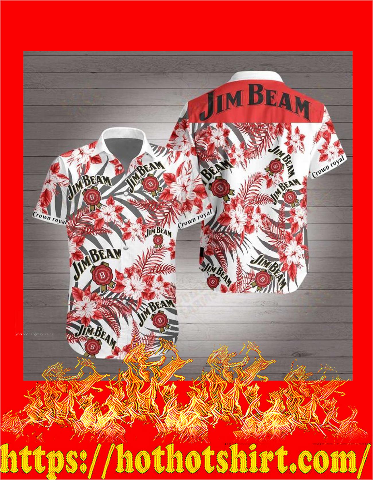 Jim beam hawaiian shirt - detail