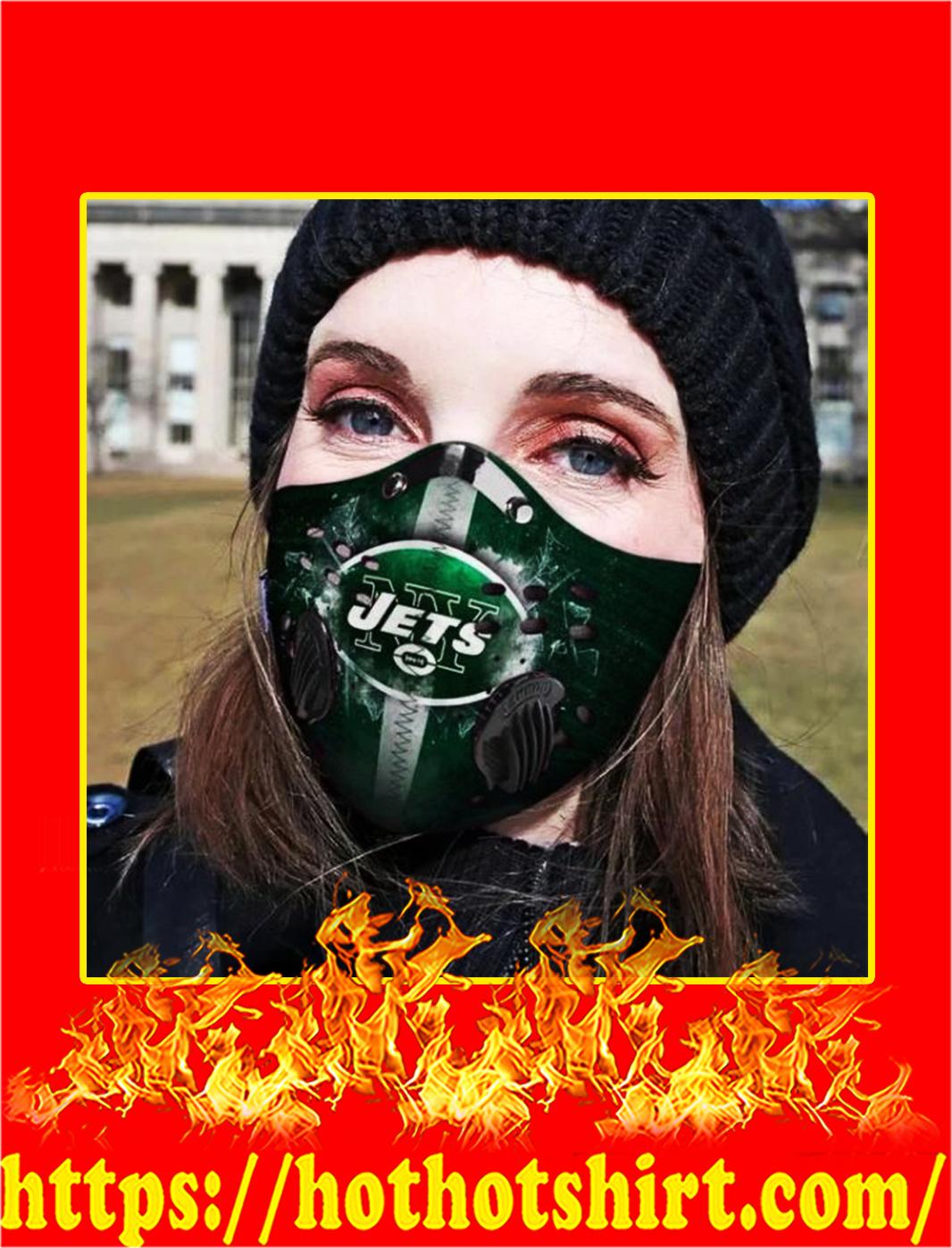 NY Jets POD face mask - pic 1
