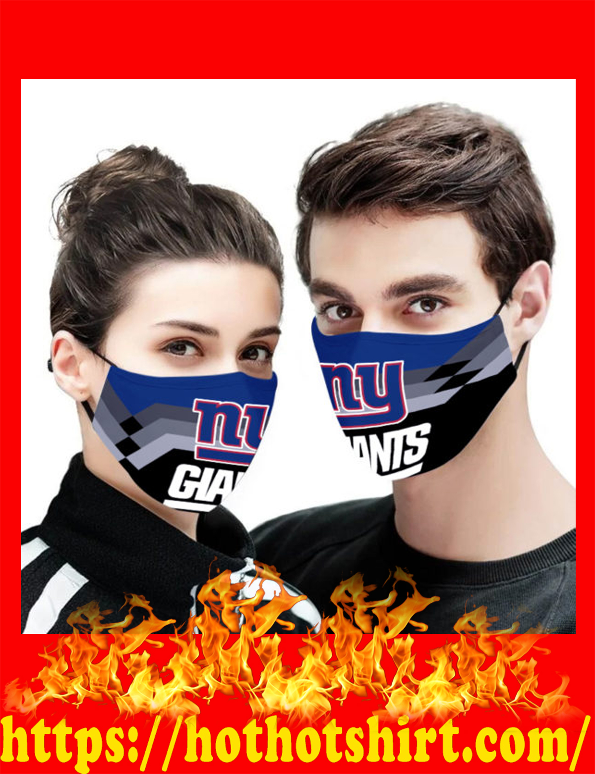 New york giants face mask - detail