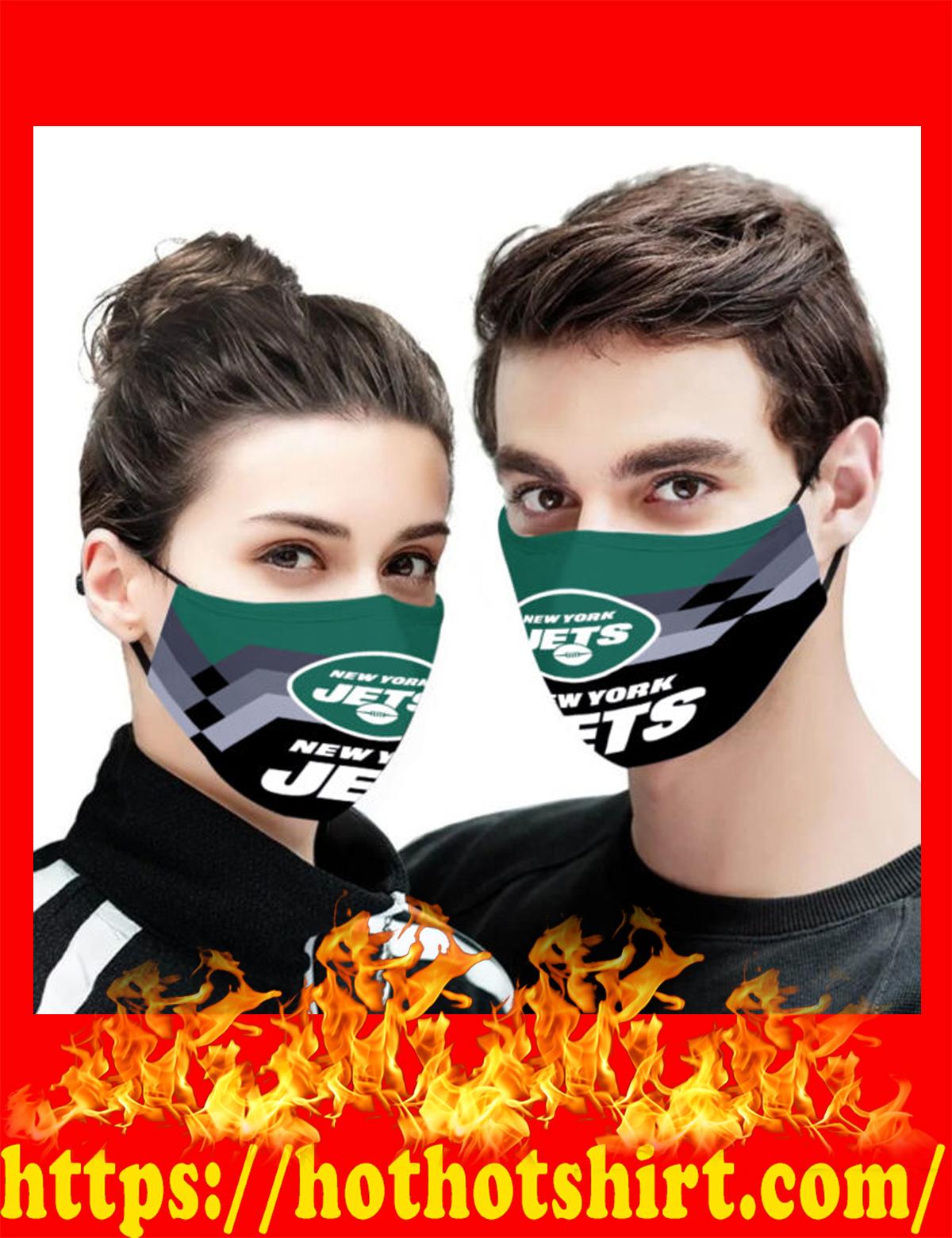 New york jets face mask - detail