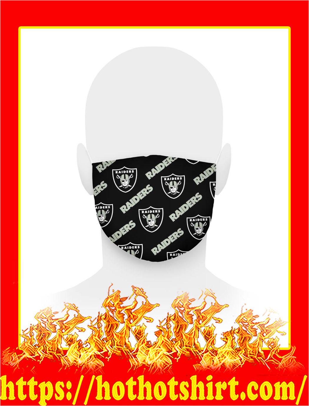 Oakland raiders logo face mask- pic 1
