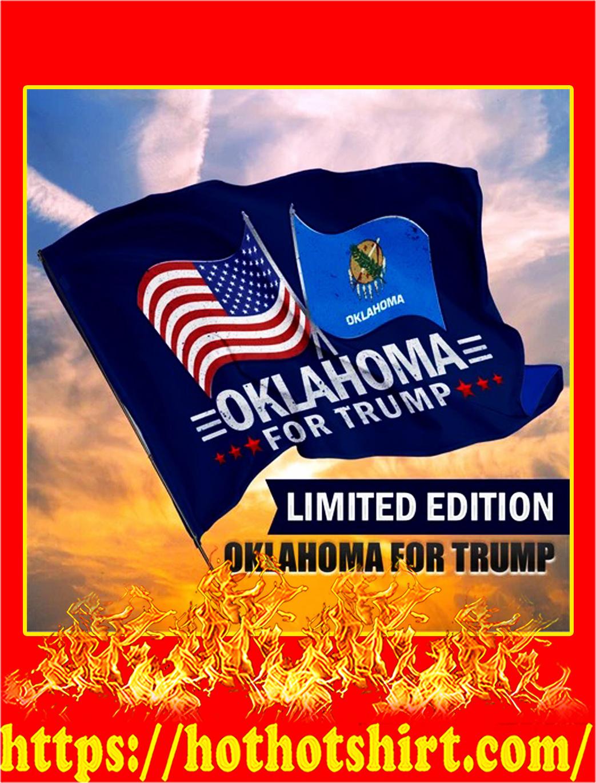 Oklahoma for trump flag