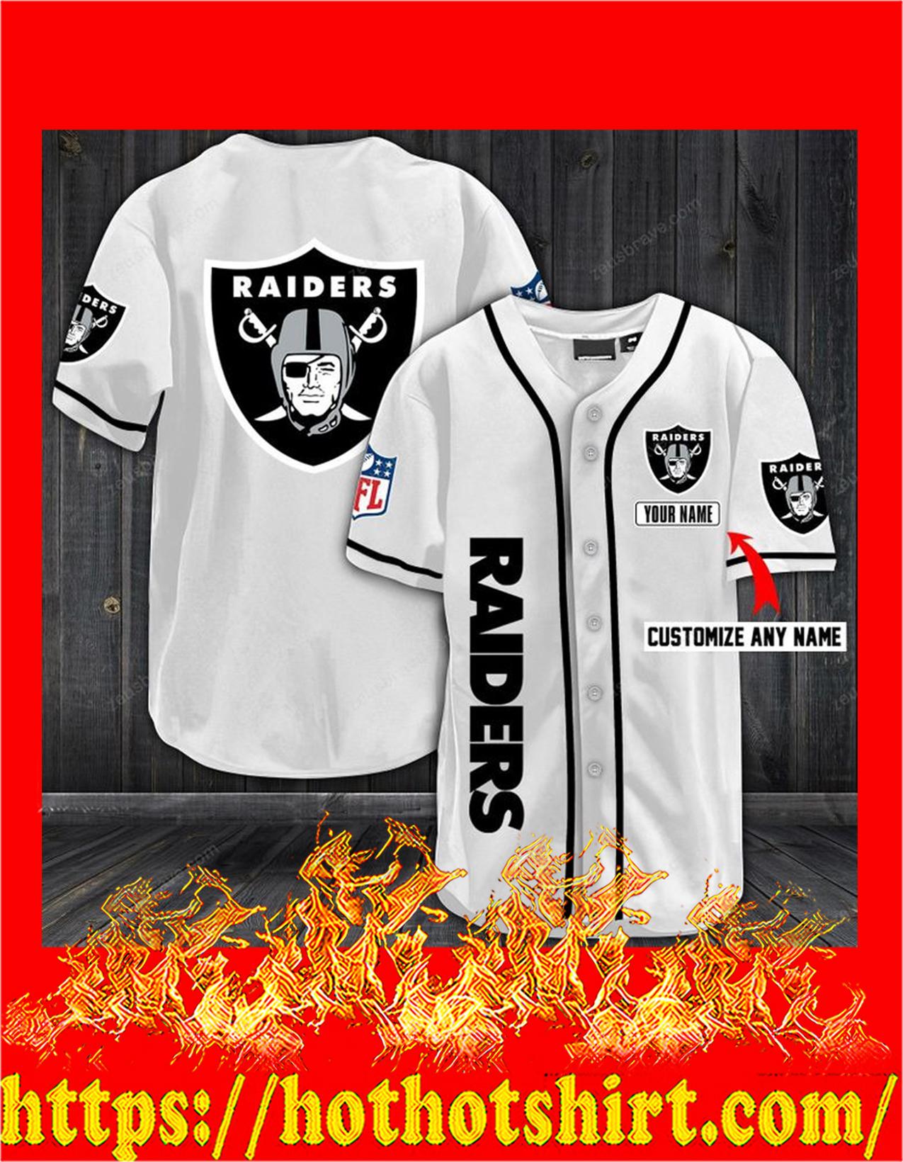 Personalize custom name oakland raiders hawaiian shirt - Pic 2