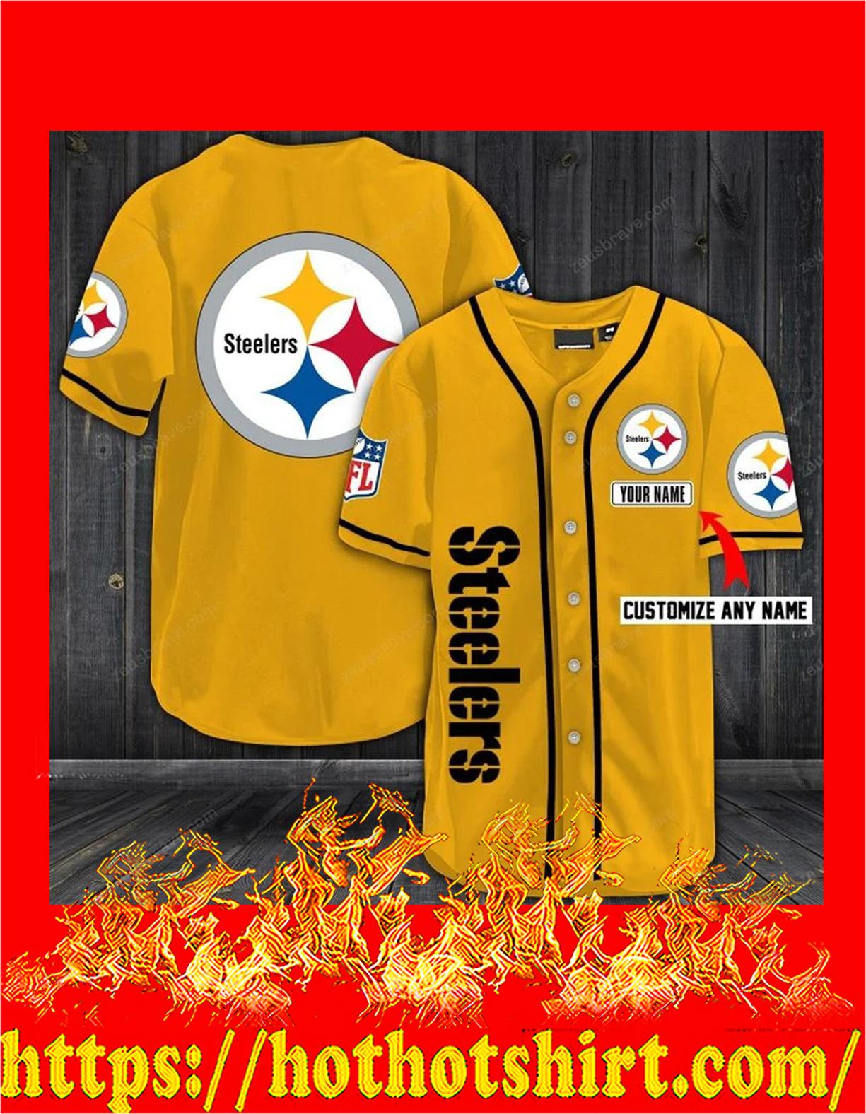 Personalize custom name pittsburgh steelers hawaiian shirt - pic 1