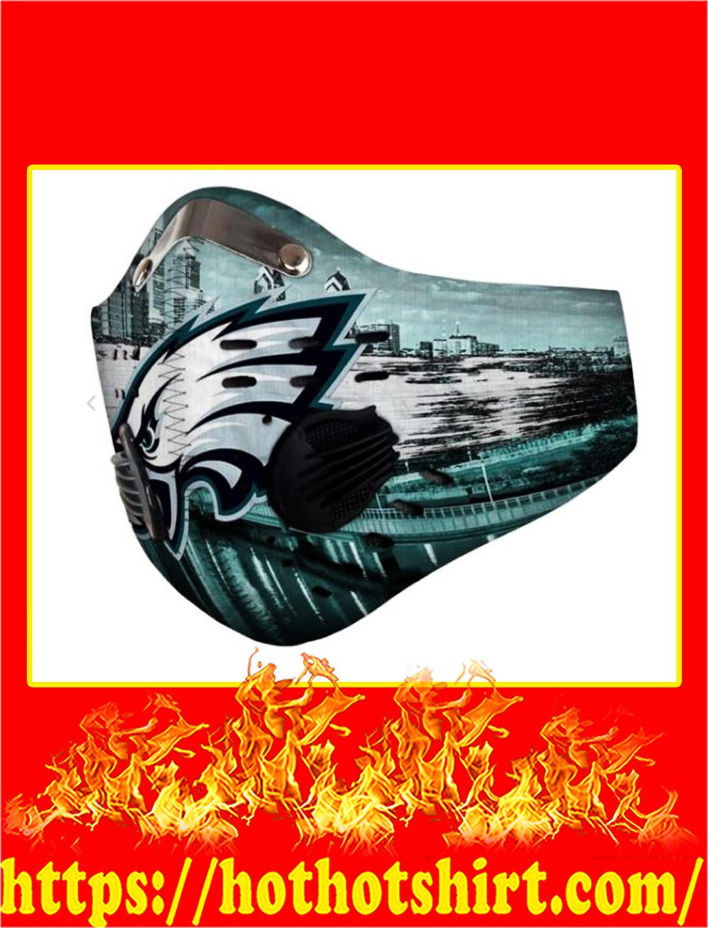 Philadelphia eagles POD face mask - pic 1
