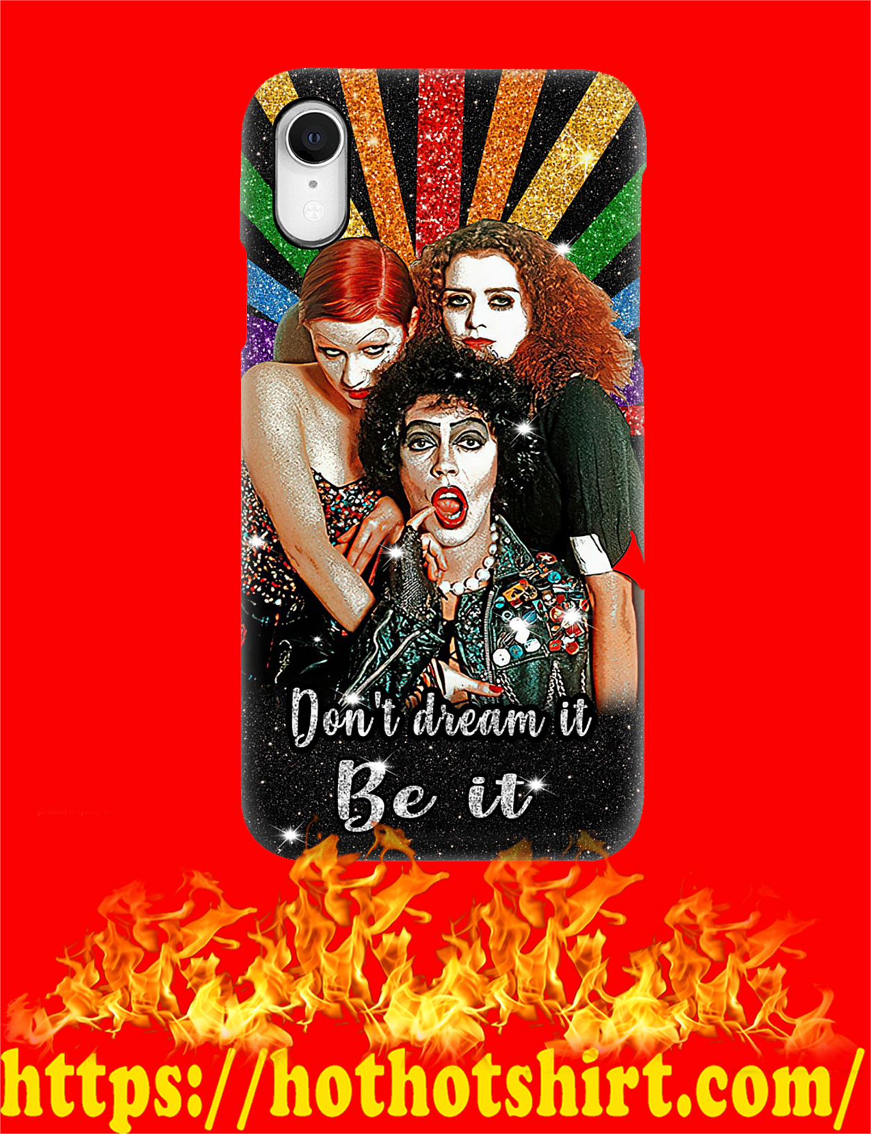 Rocky horror picture show don't dream it be it phone case - pic 1