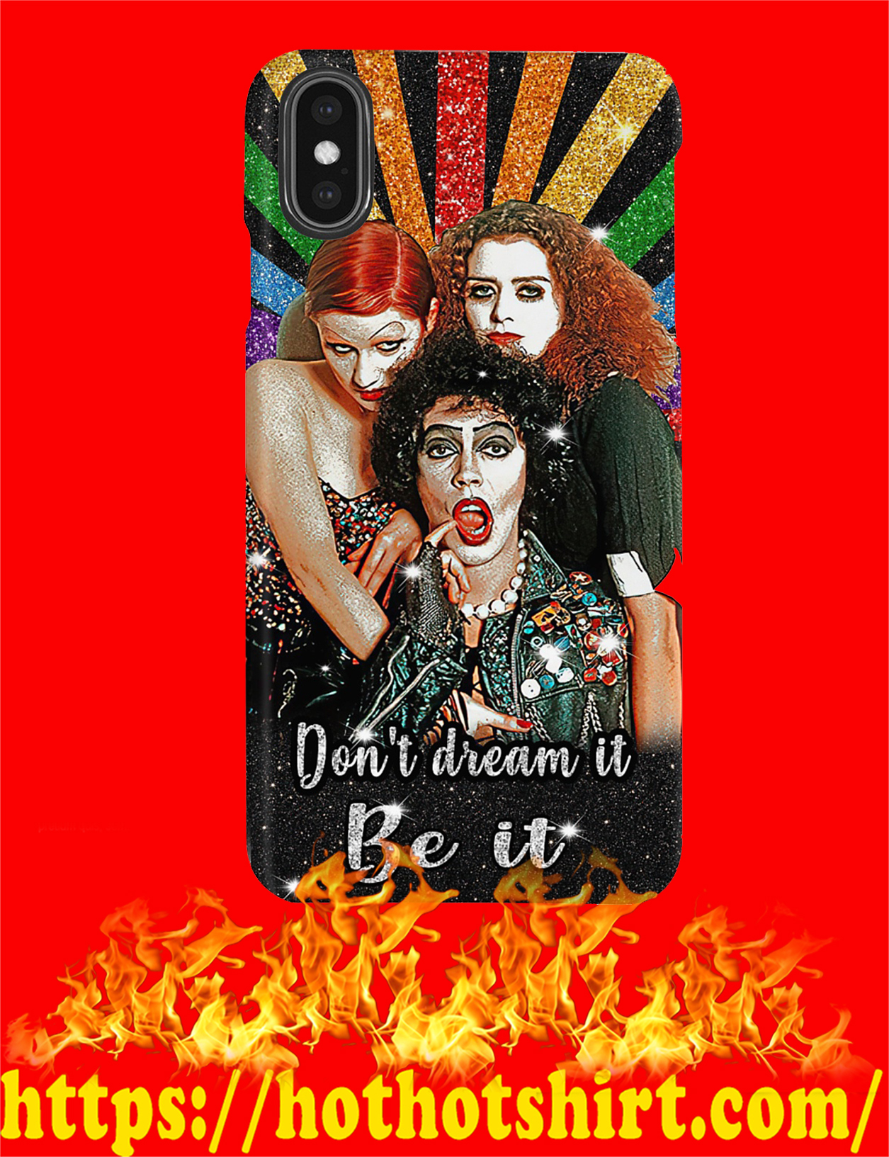 Rocky horror picture show don't dream it be it phone case - pic 2