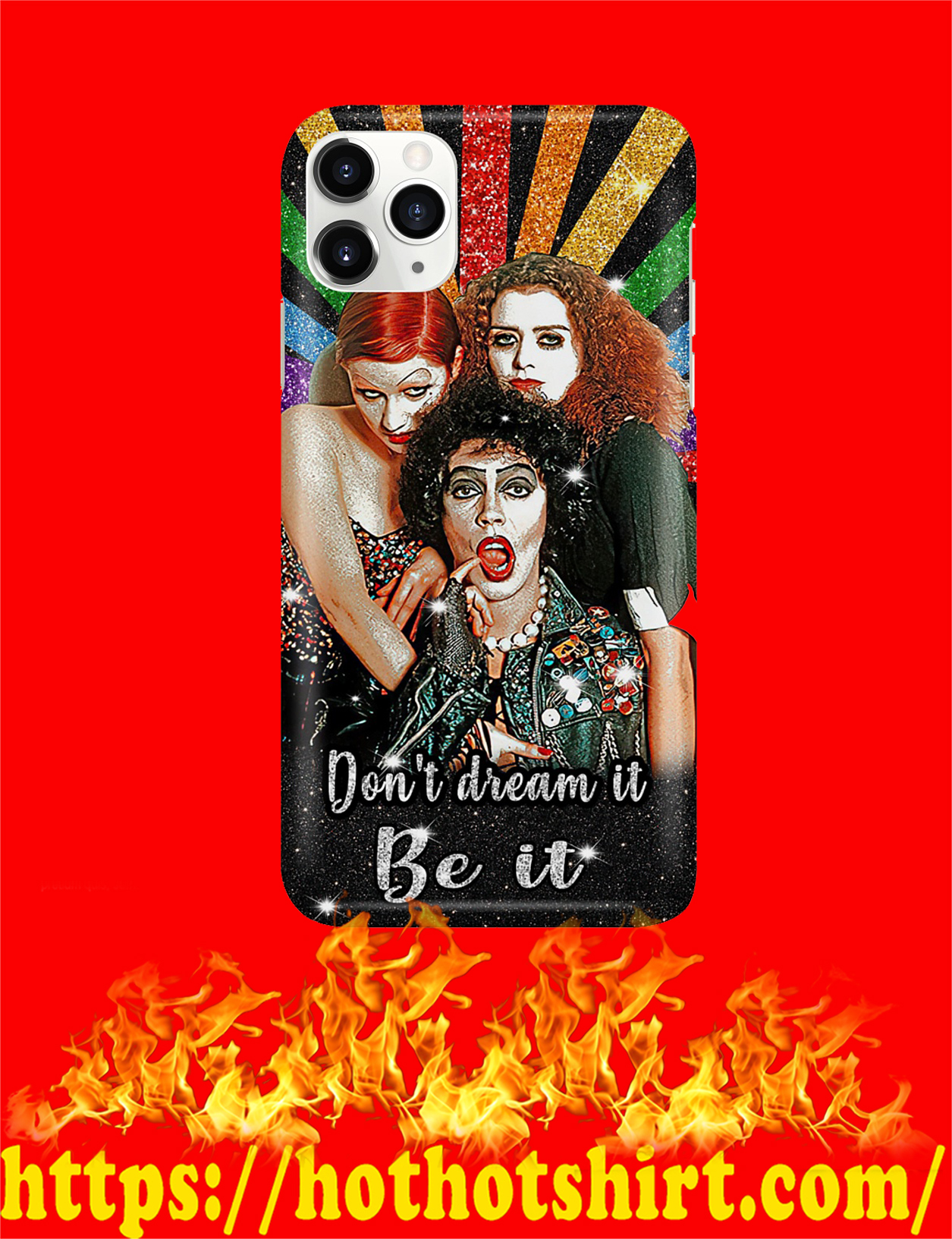 Rocky horror picture show don't dream it be it phone case - pic 3