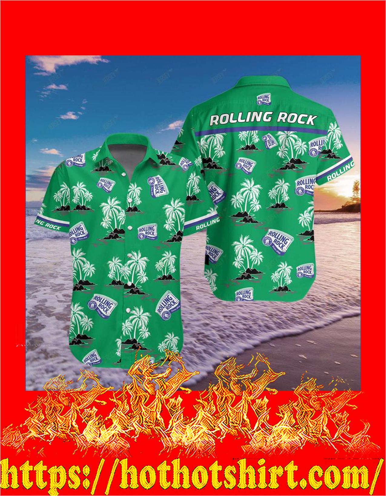 Rolling rock hawaiian shirt - pic 1
