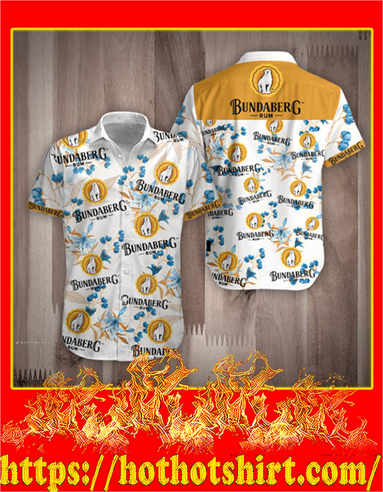Rum Bundaberg hawauuan shirt - detail