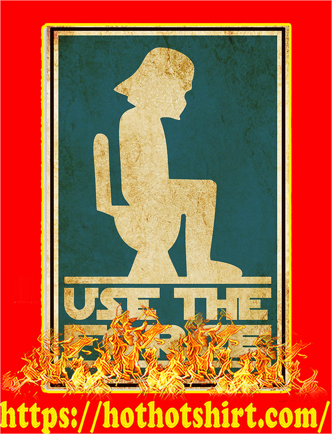 Use the force poster - A3