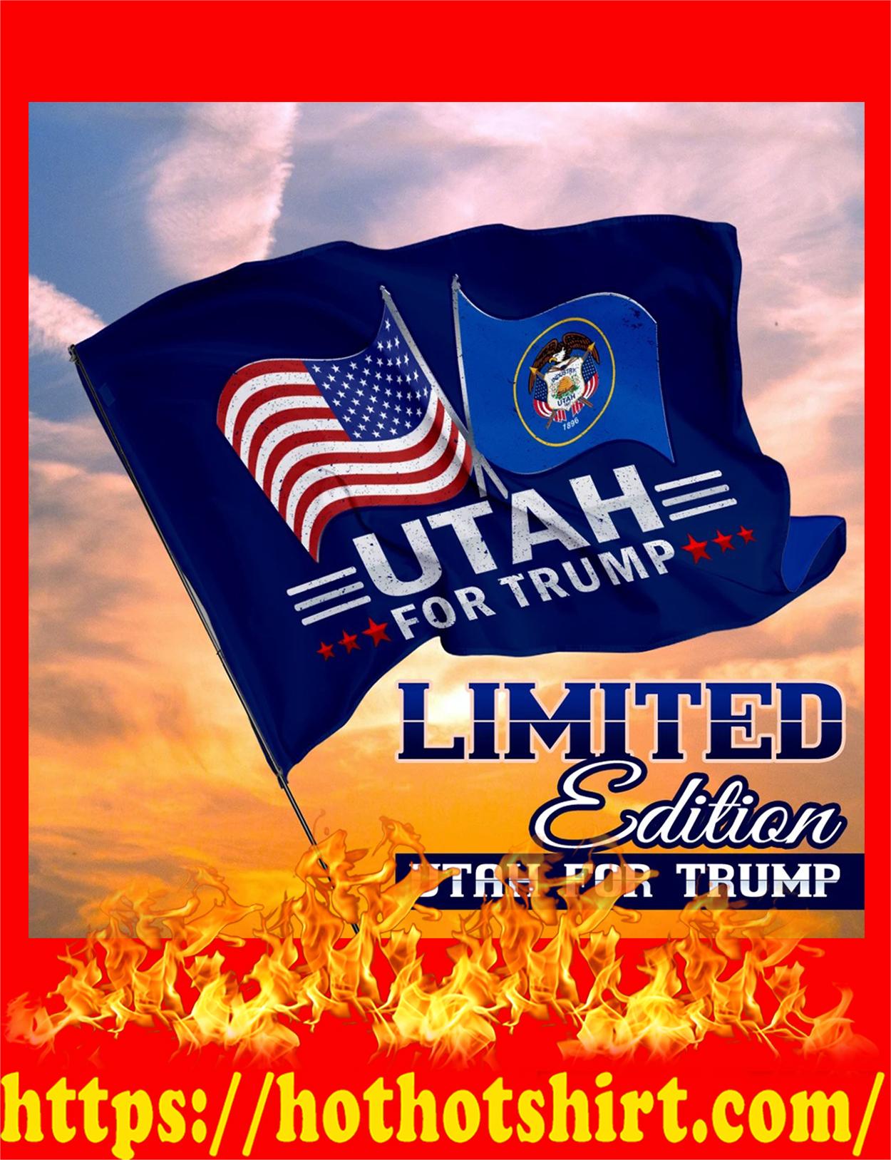 Utah for trump flag