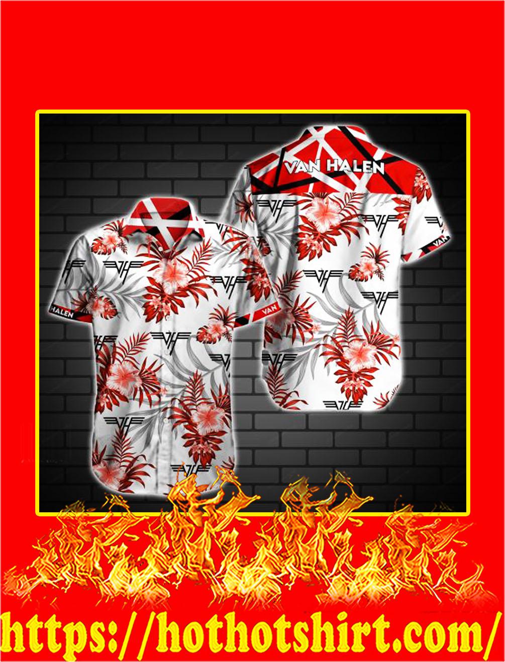 Van halen hawaiian shirt - S