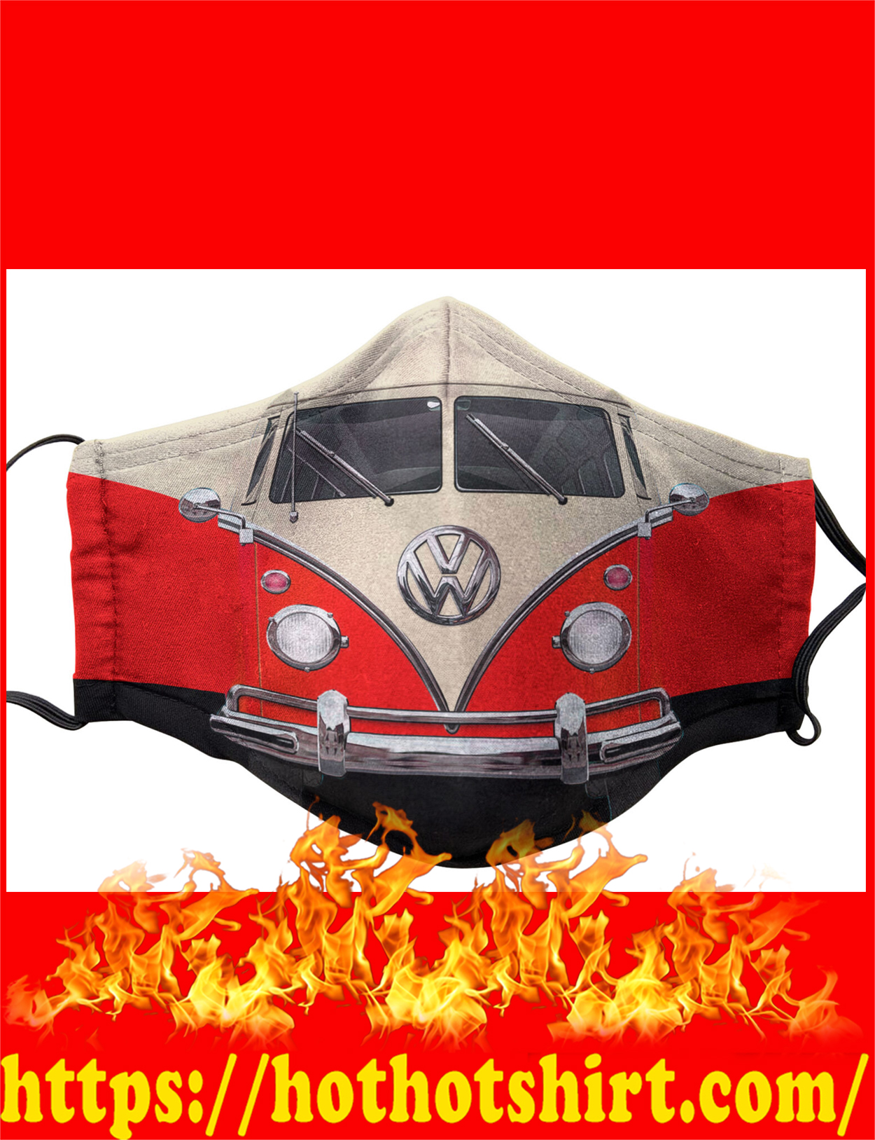 Volkswagen cloth face mask