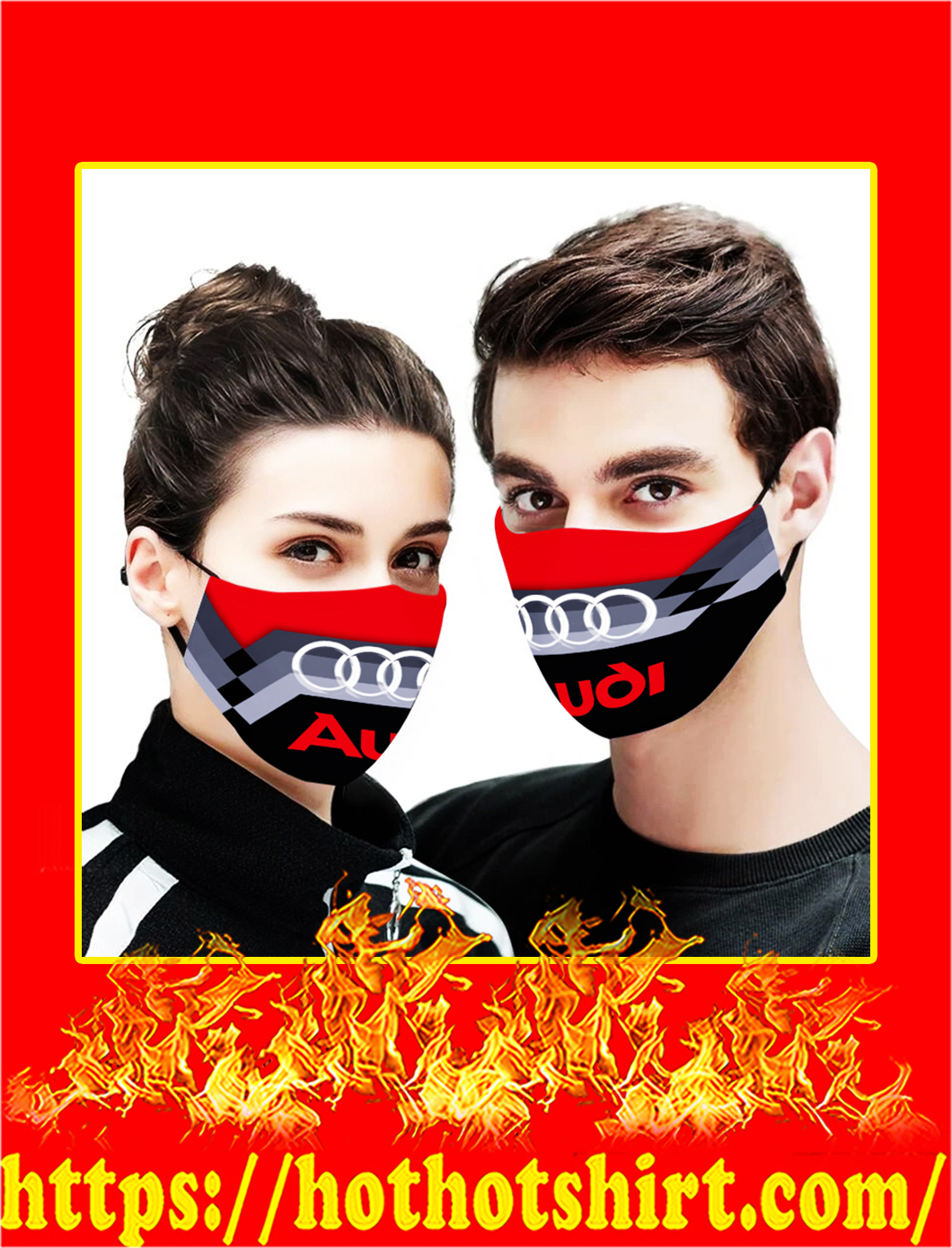Audi cloth mask- pic 1
