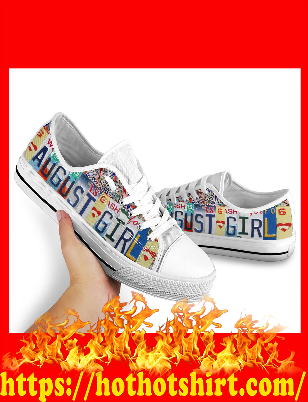 August girl low top shoes - pic 1