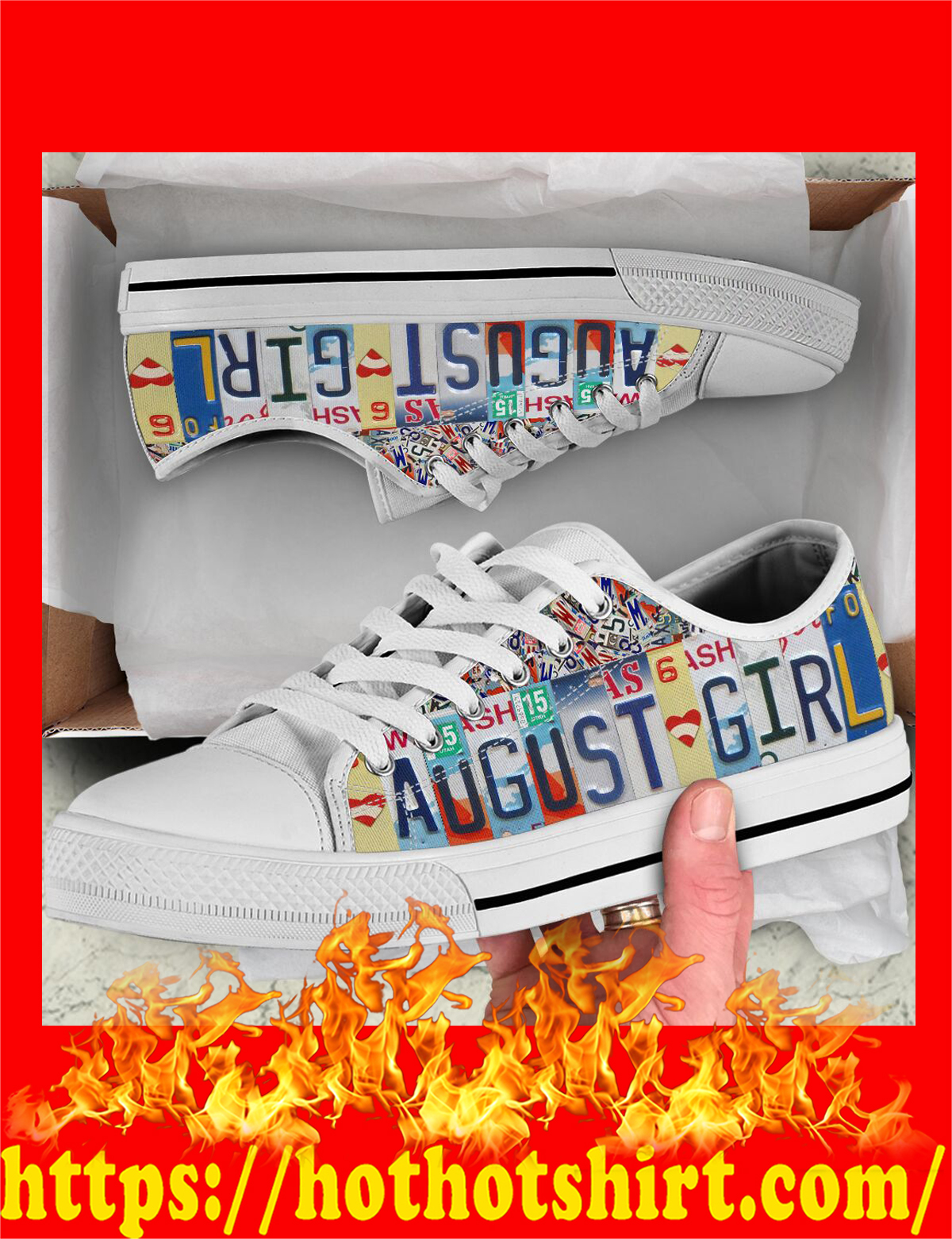 August girl low top shoes - pic 3