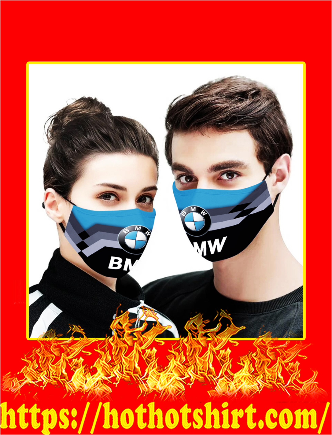 BMW cloth mask- pic 1