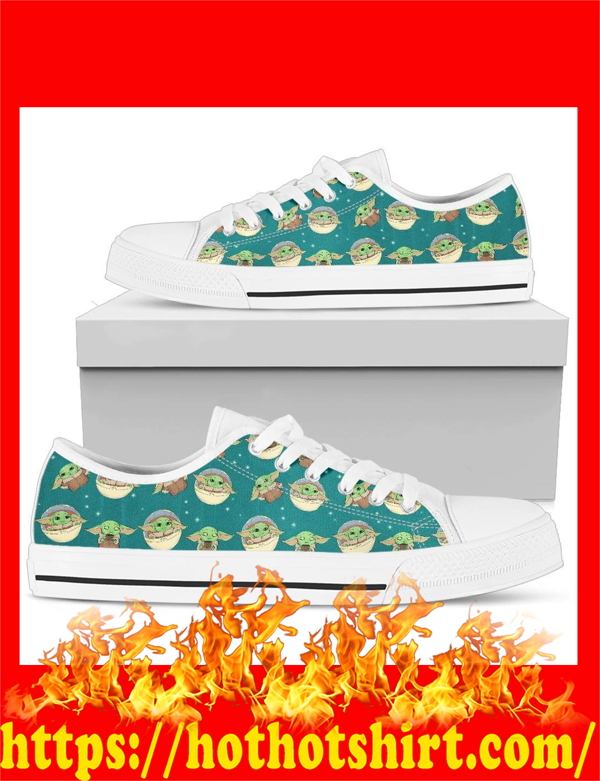 Baby master yoda low top shoes - pic 1