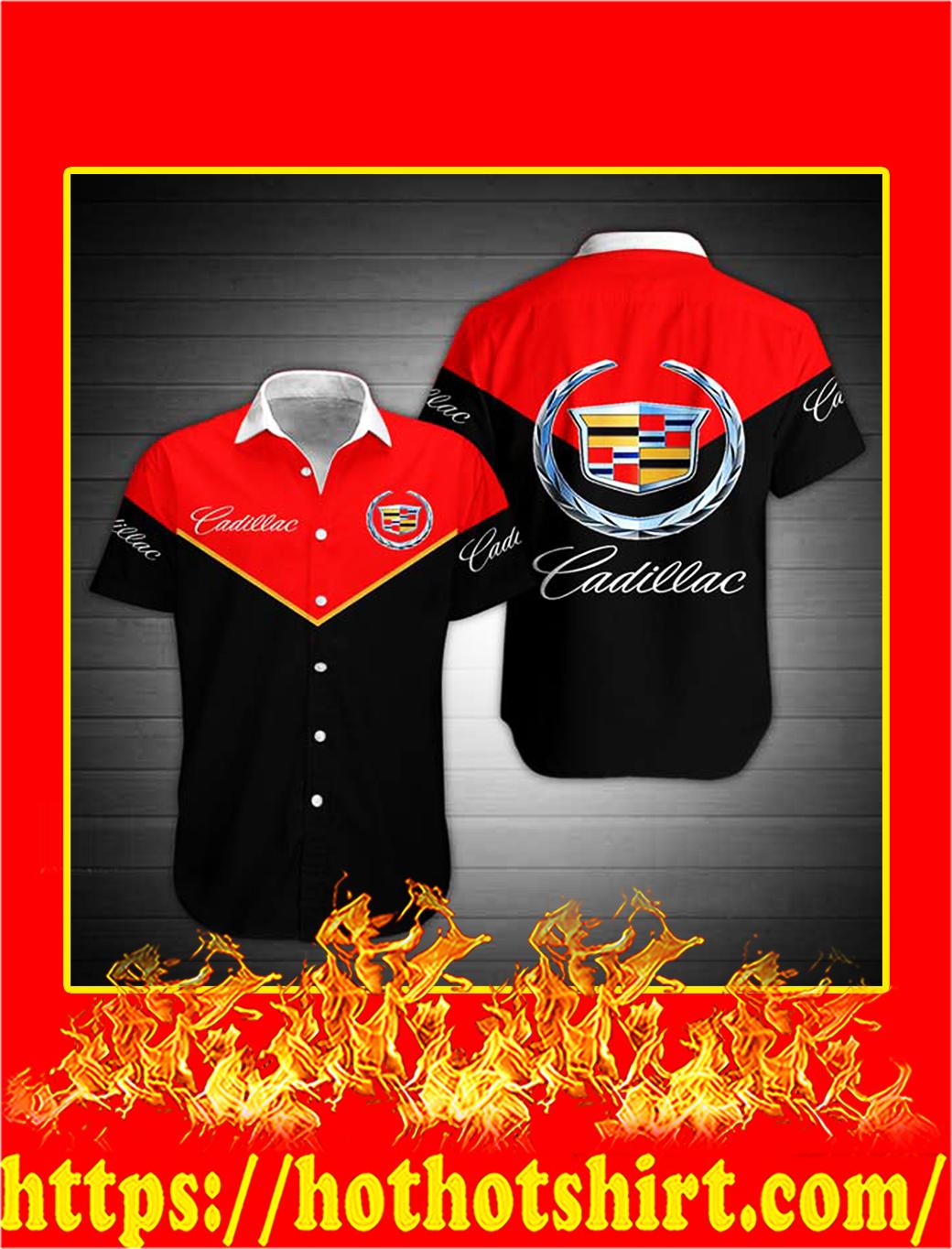 Cadillac hawaiian shirt - M