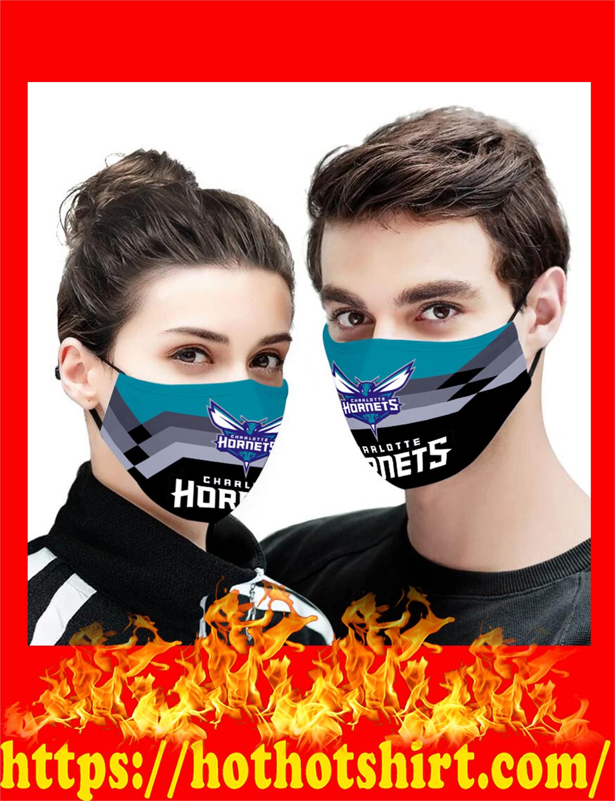 Charlotte Hornets NBA face mask - detail