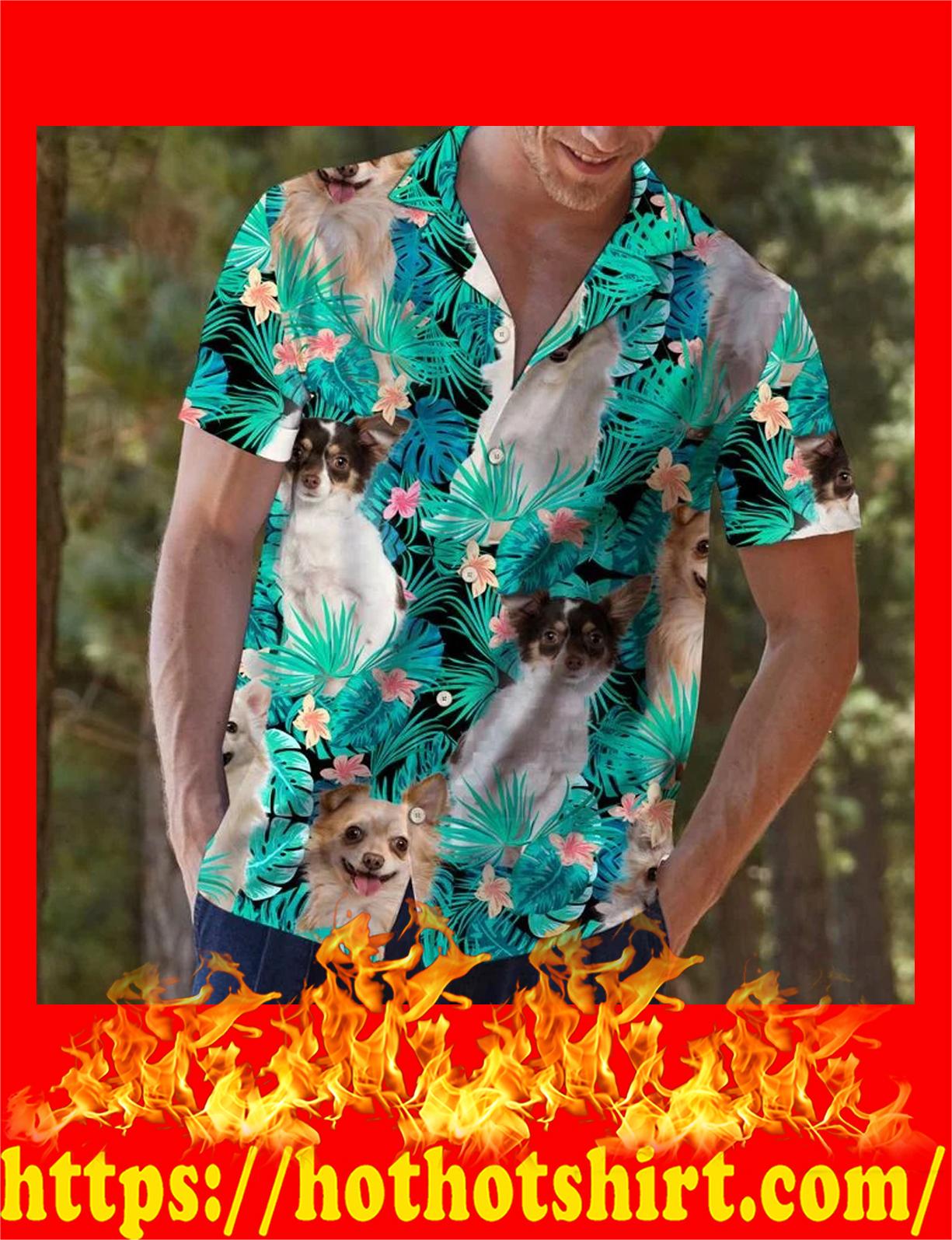 Chihuahua tropical hawaii shirt - ad