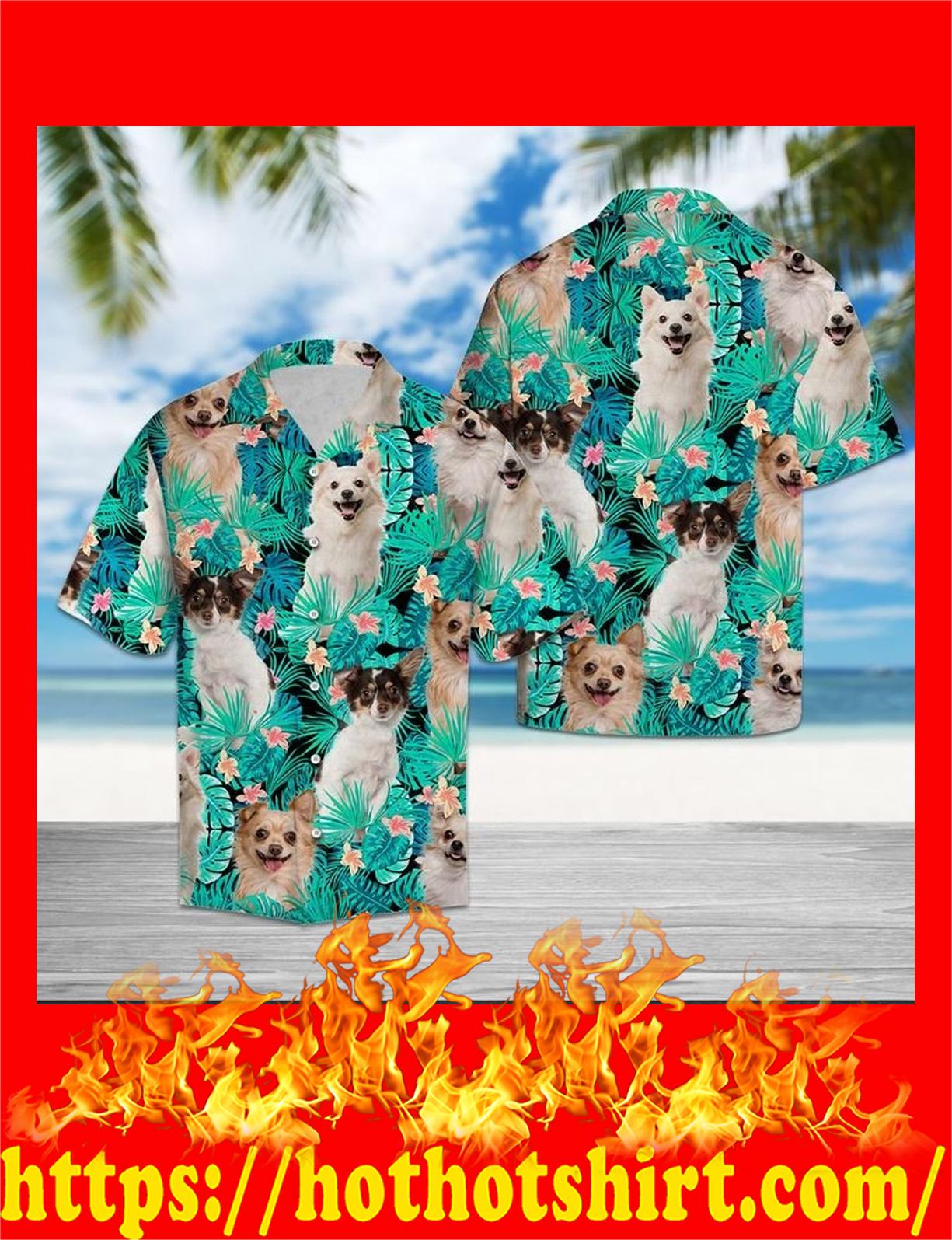 Chihuahua tropical hawaii shirt
