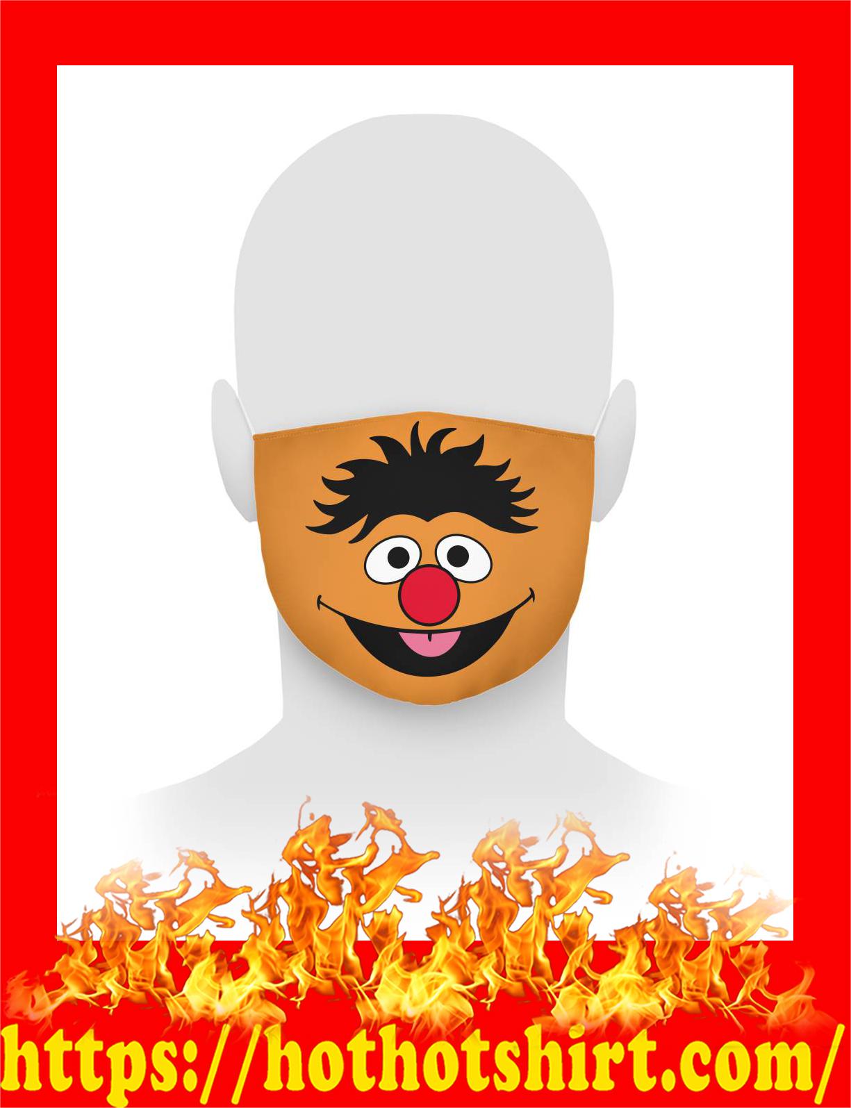 Ernie sesame street face mask - detail