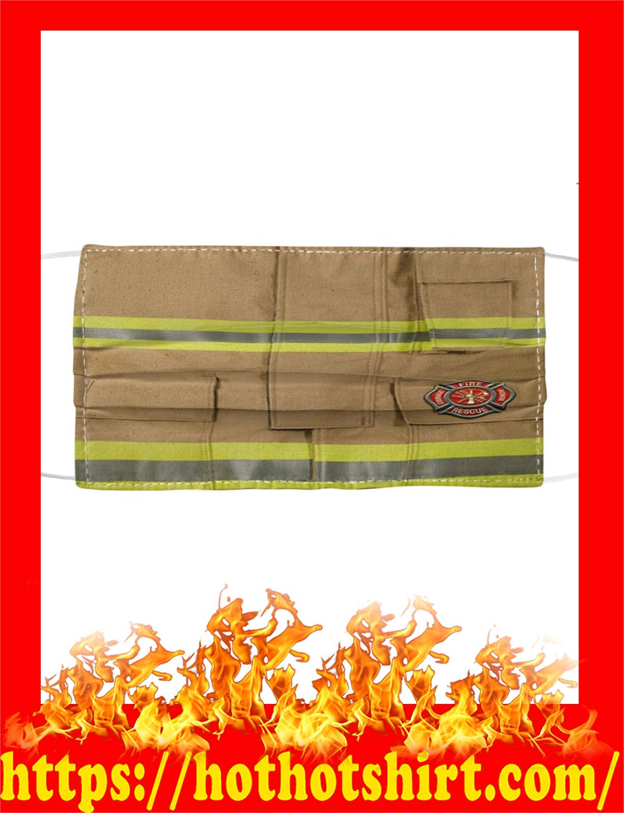 Firefighter uniforms face mask - detail