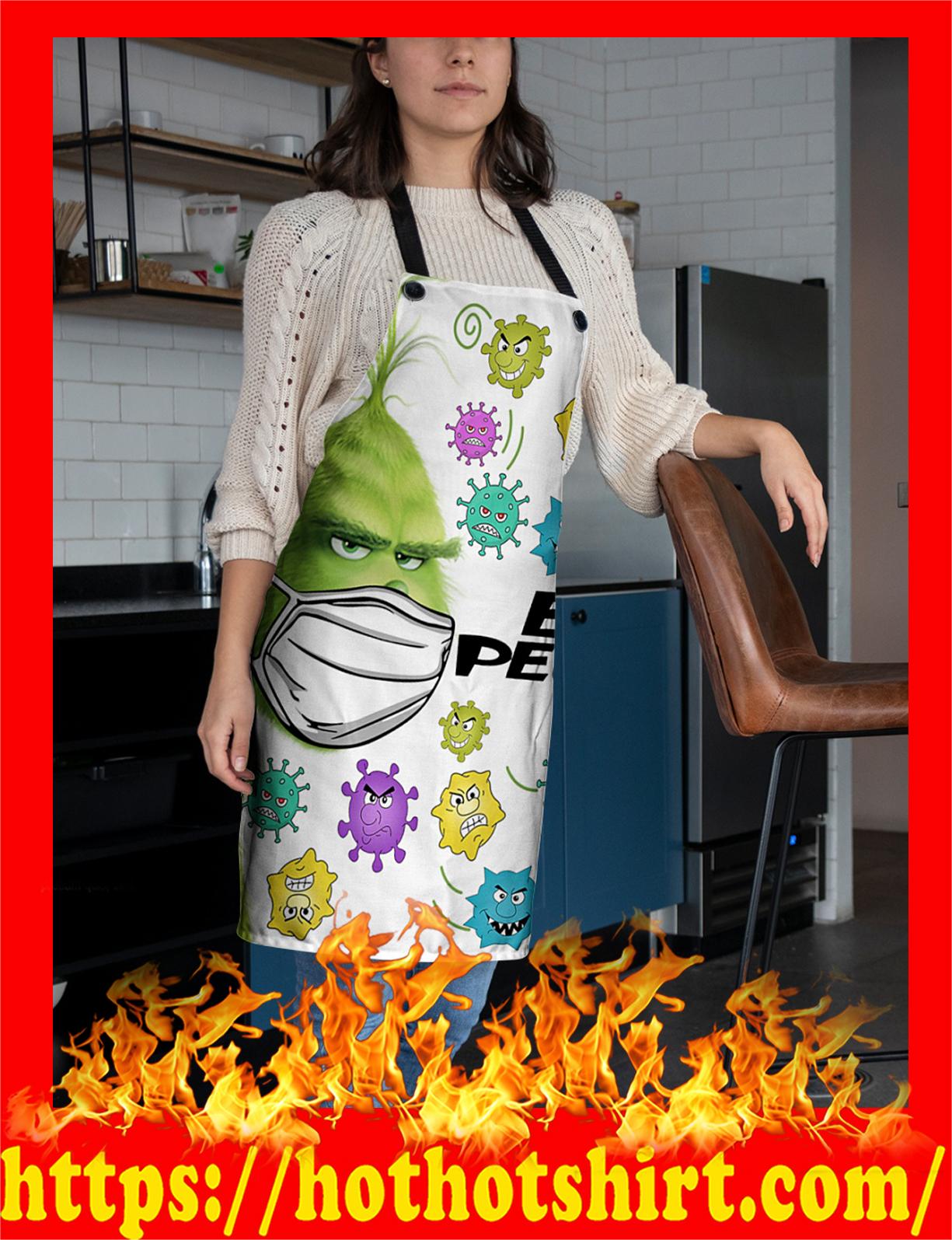 Grinch ew people apron