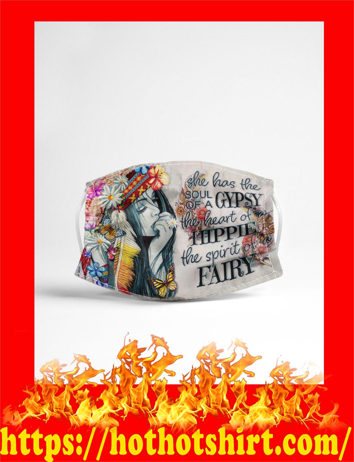 Gypsy hippie fairy face mask