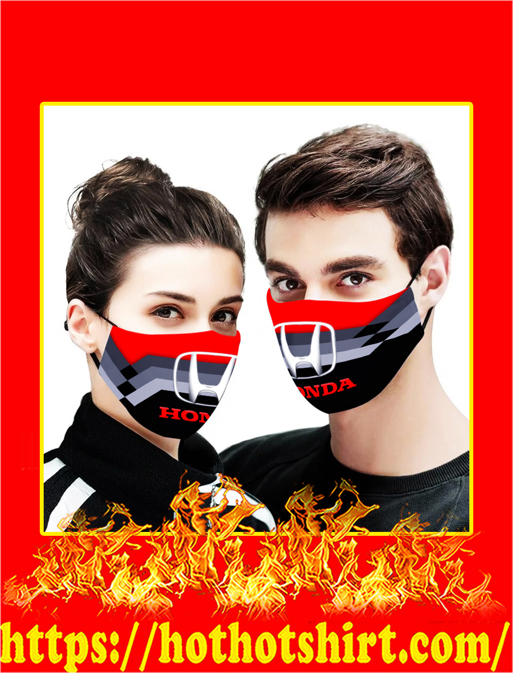 Honda cloth mask