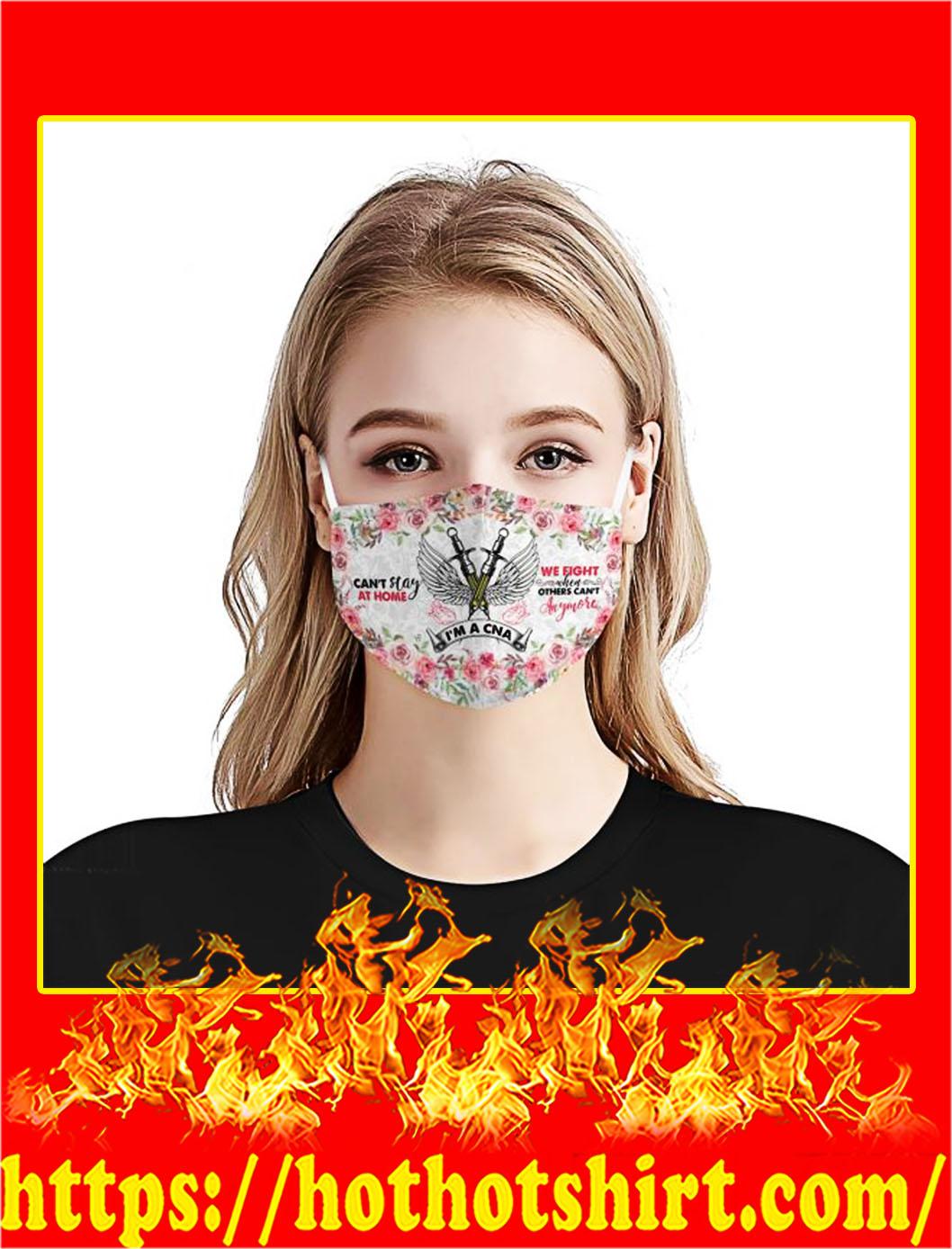 I'm a cna flower face mask- pic 1