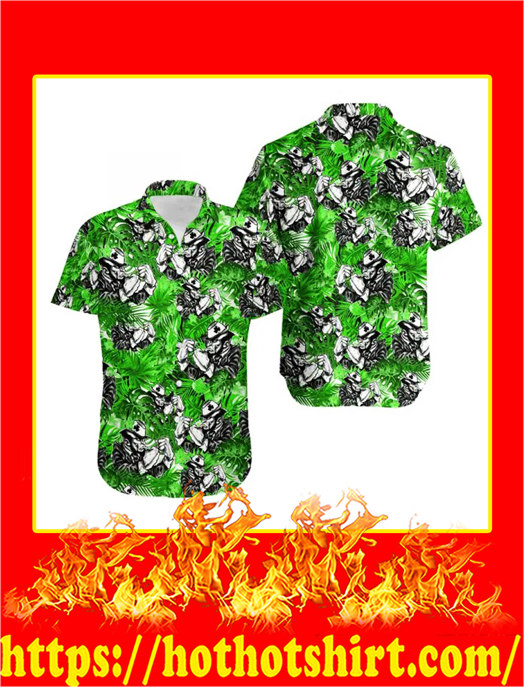 Irish leprechaun hawaiian shirt- pic 1