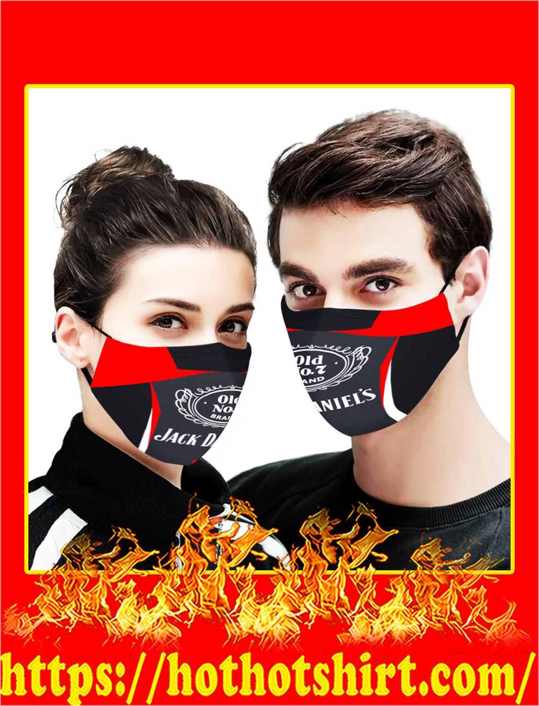 Jack daniel's cloth mask- pic 1