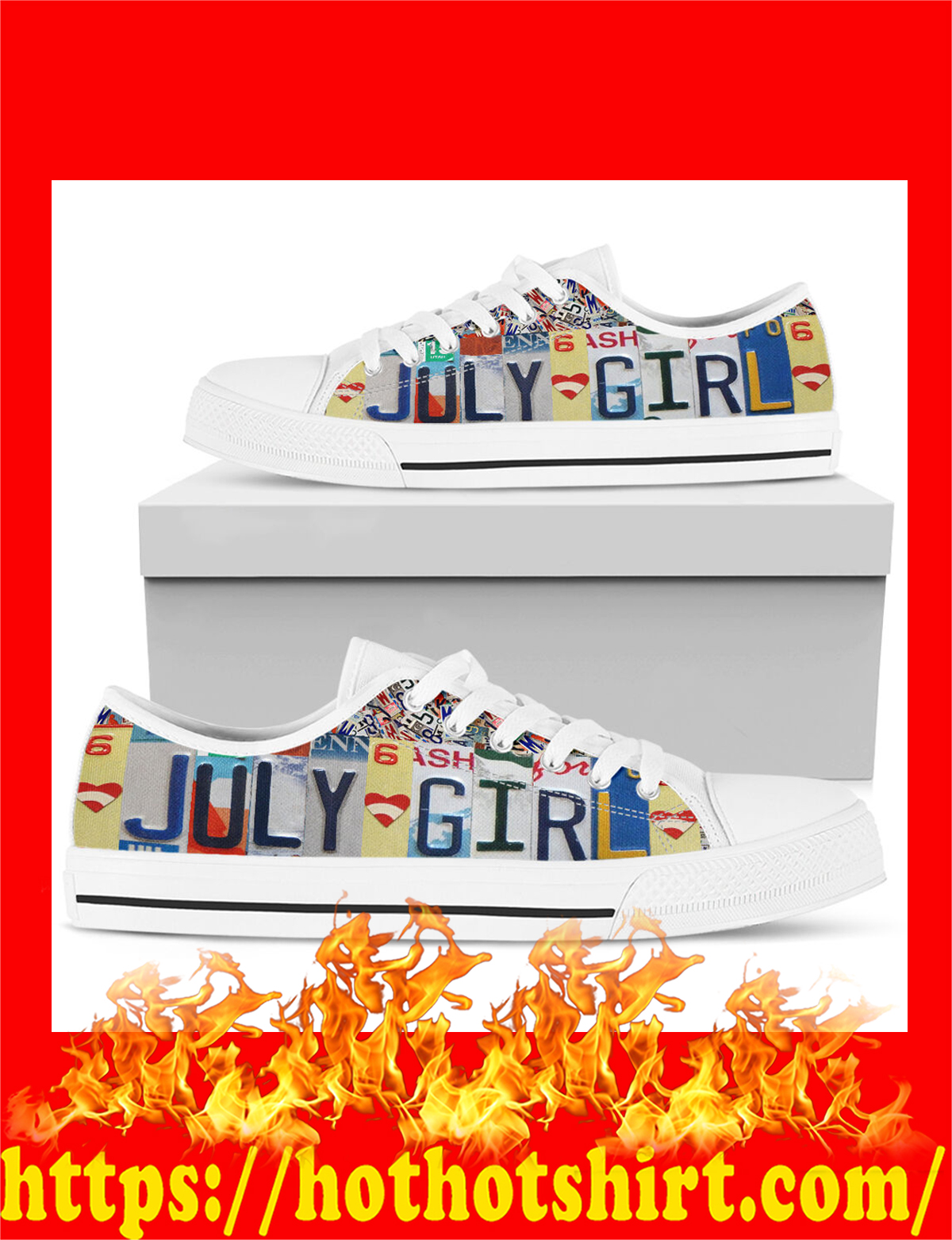 July girl low top shoes - pic 1