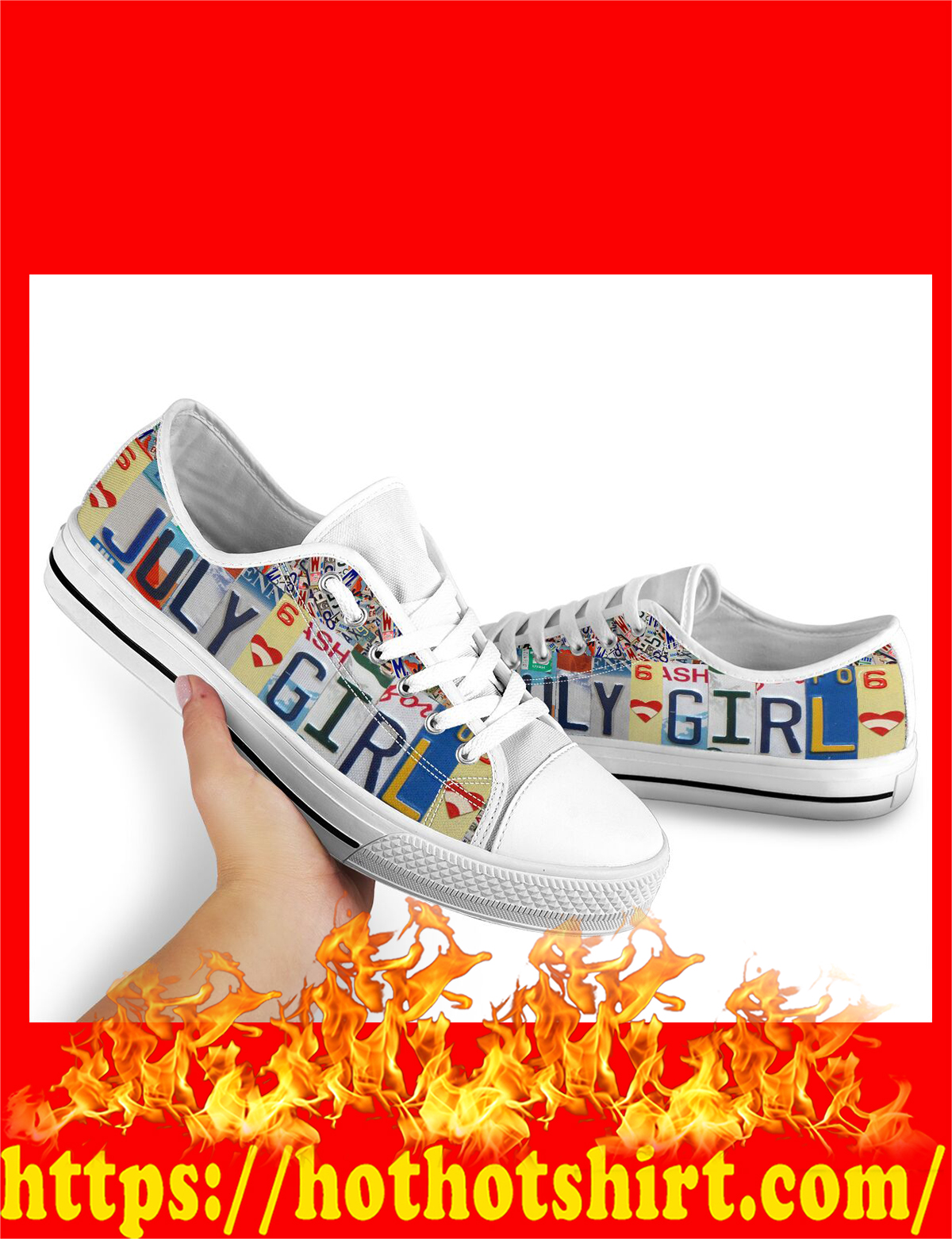 July girl low top shoes - pic 3