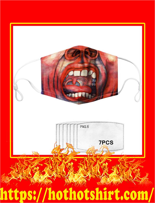 King crimson face mask