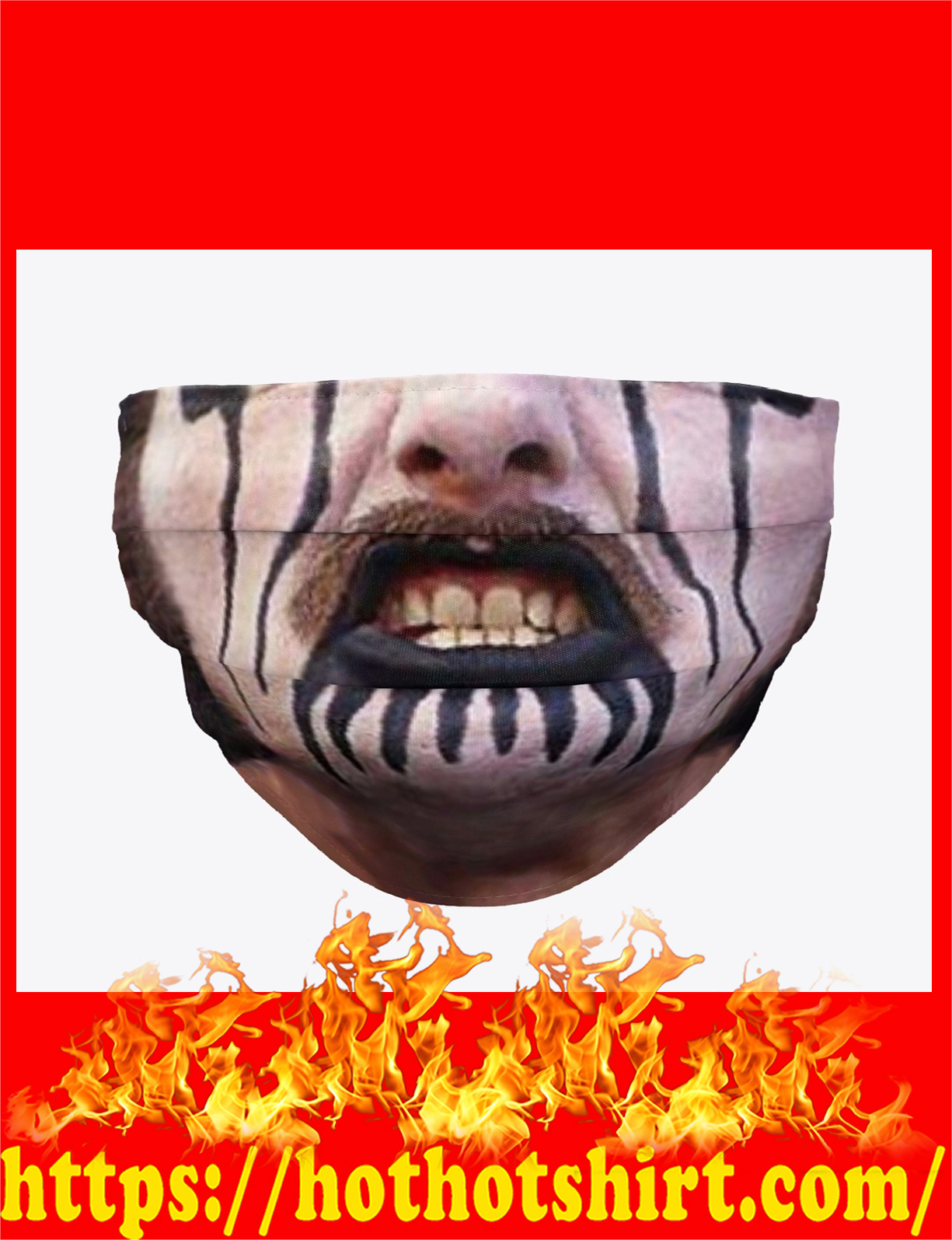 King diamond face mask - detail