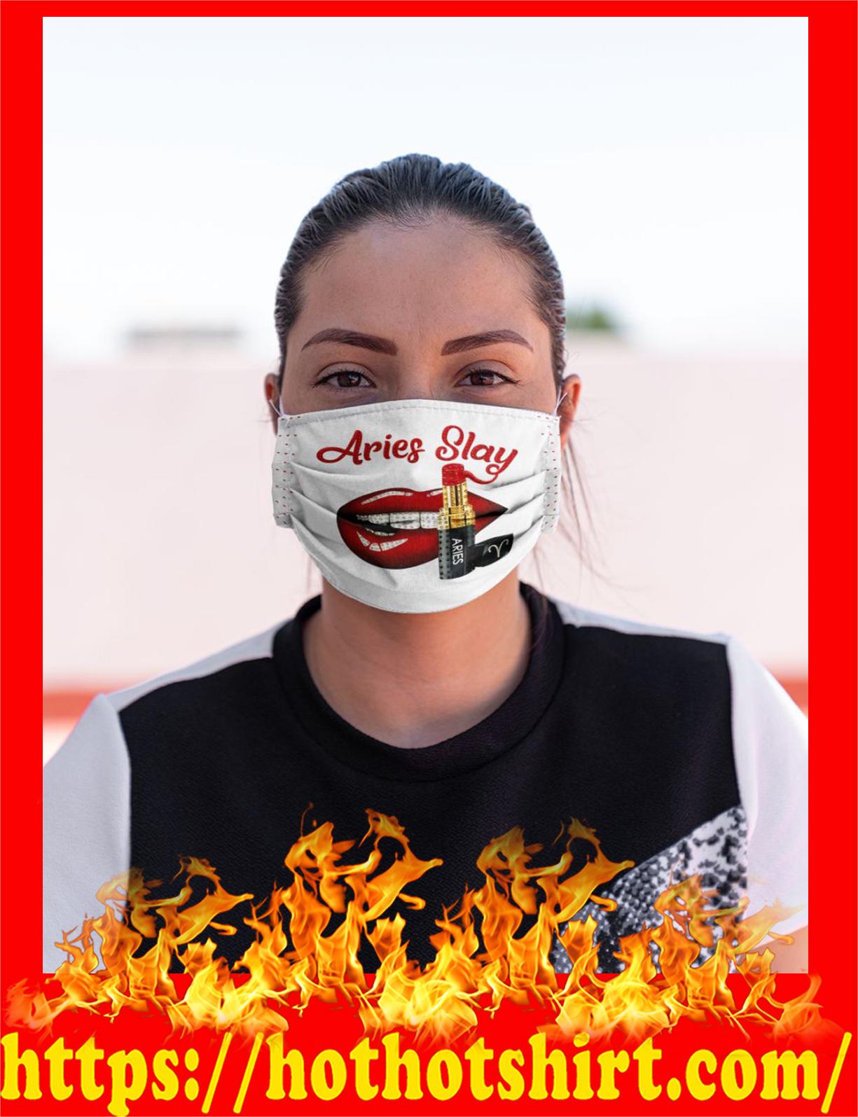 Lips aries slay face mask
