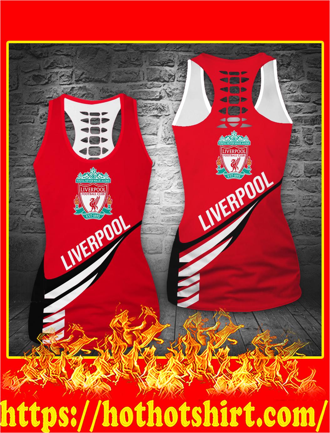 Liverpool football club hollow tank top