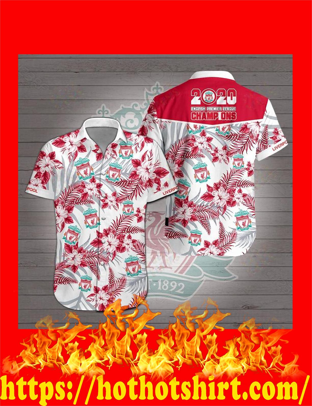Liverpool hawaiian shirt - detail