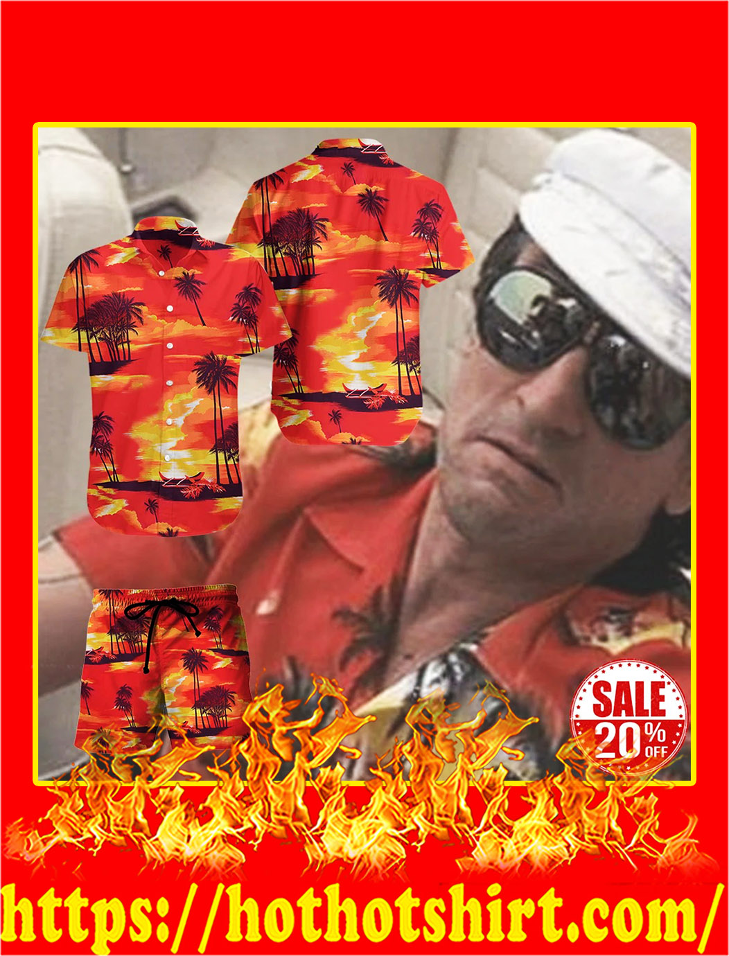 Max Candy Robert De Niro hawaiian shirt - pic 1