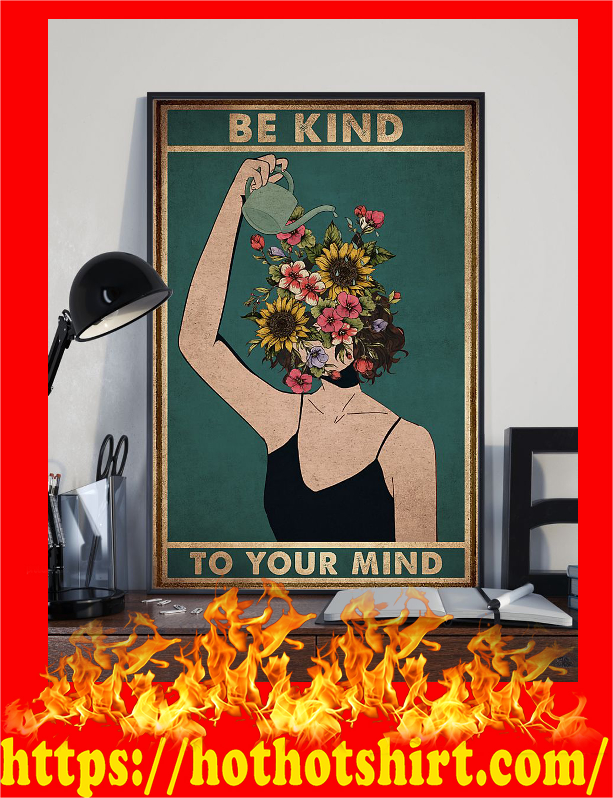 Mental Be Kind To Your Mind Poster 1