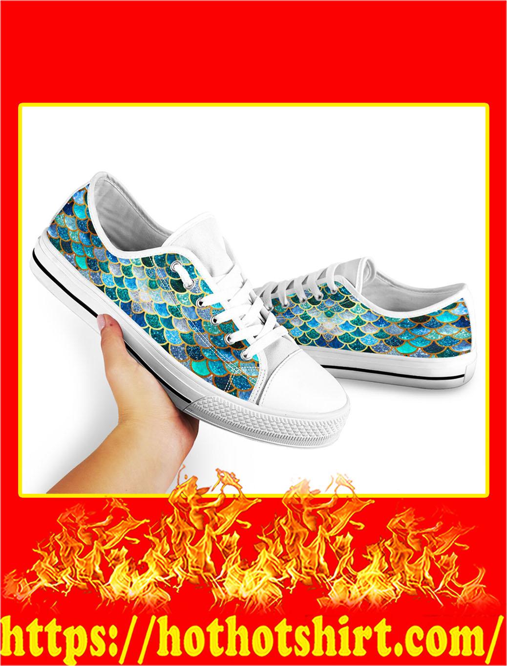 Mermaid low top shoes- pic 2