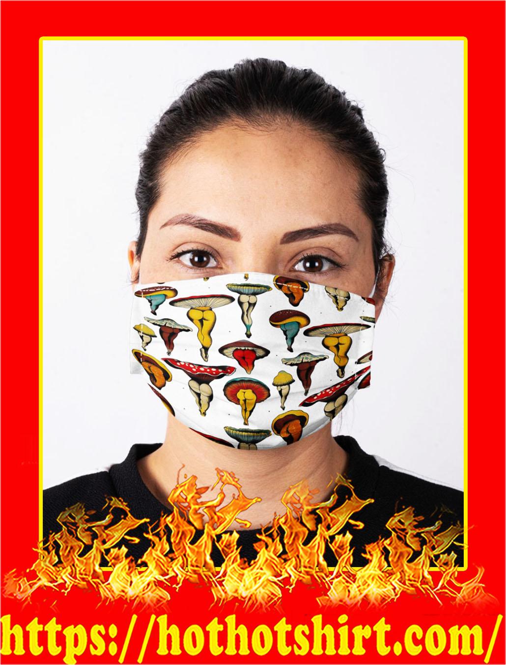 Mushroom body cloth mask- pic 1